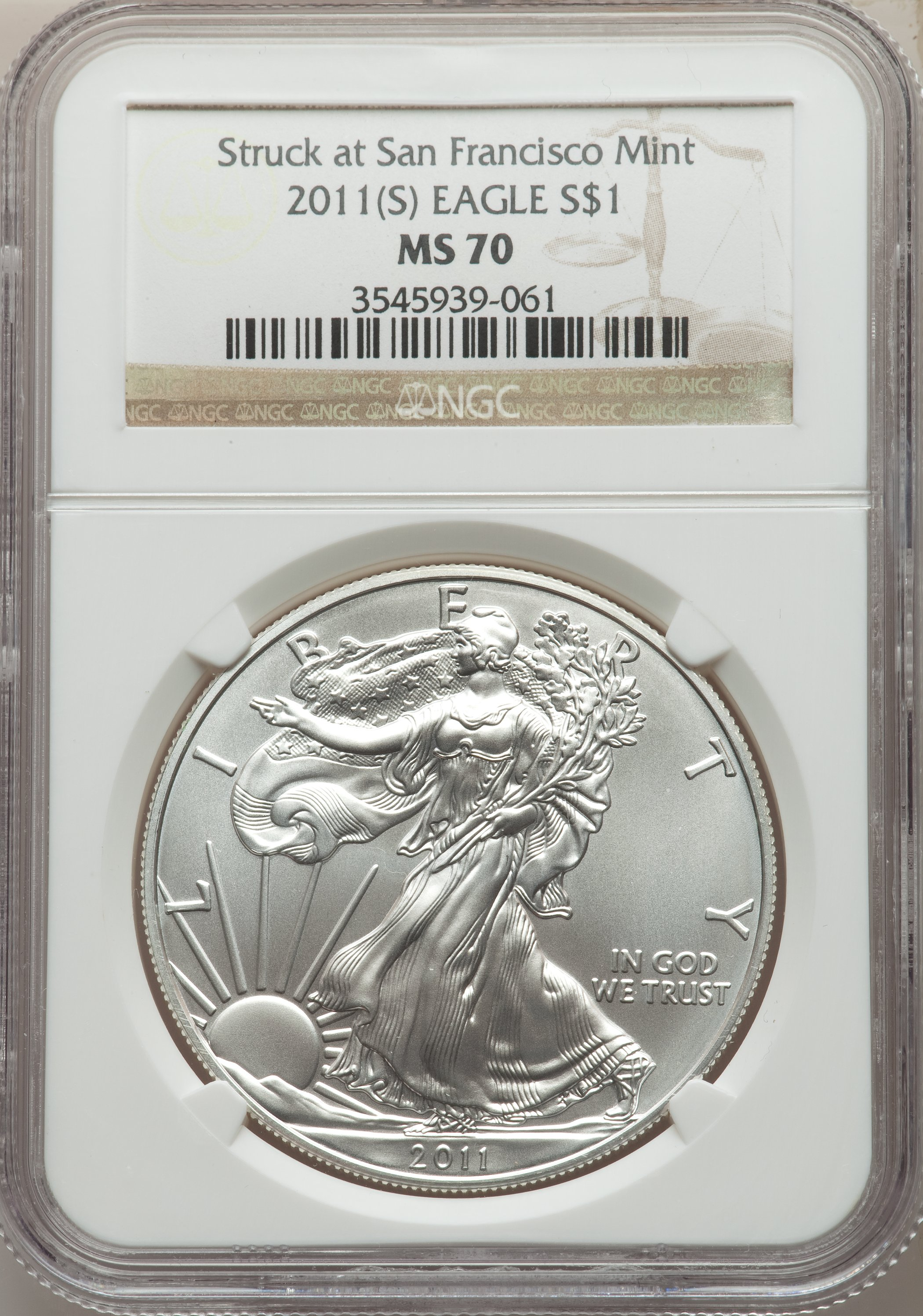 sample image for 2011-(S) Silver Eagle $1  MS