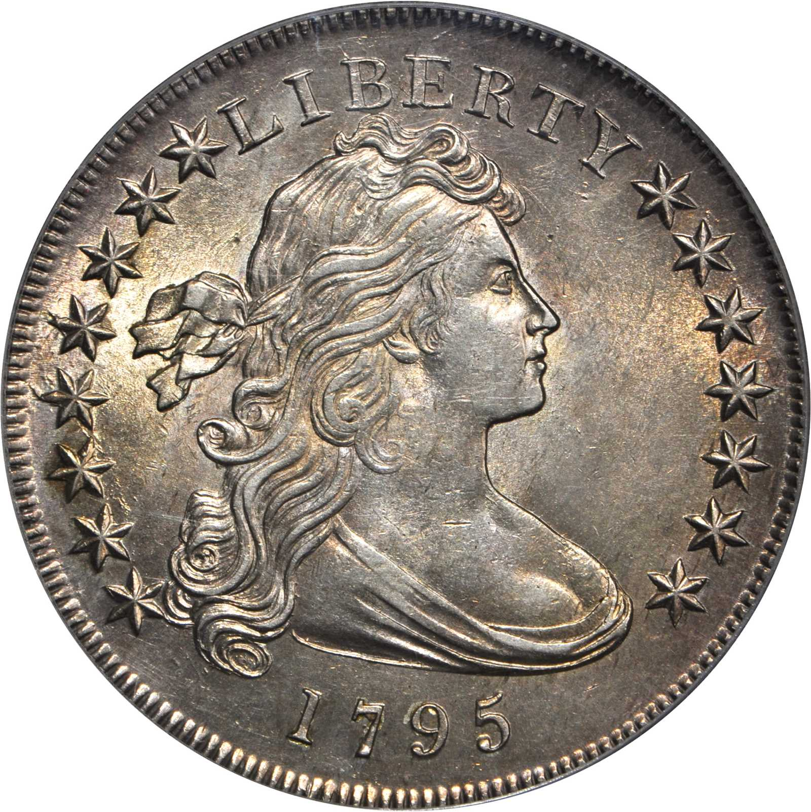 sample image for 1795 Draped Bust $1  MS Off-Center Bust