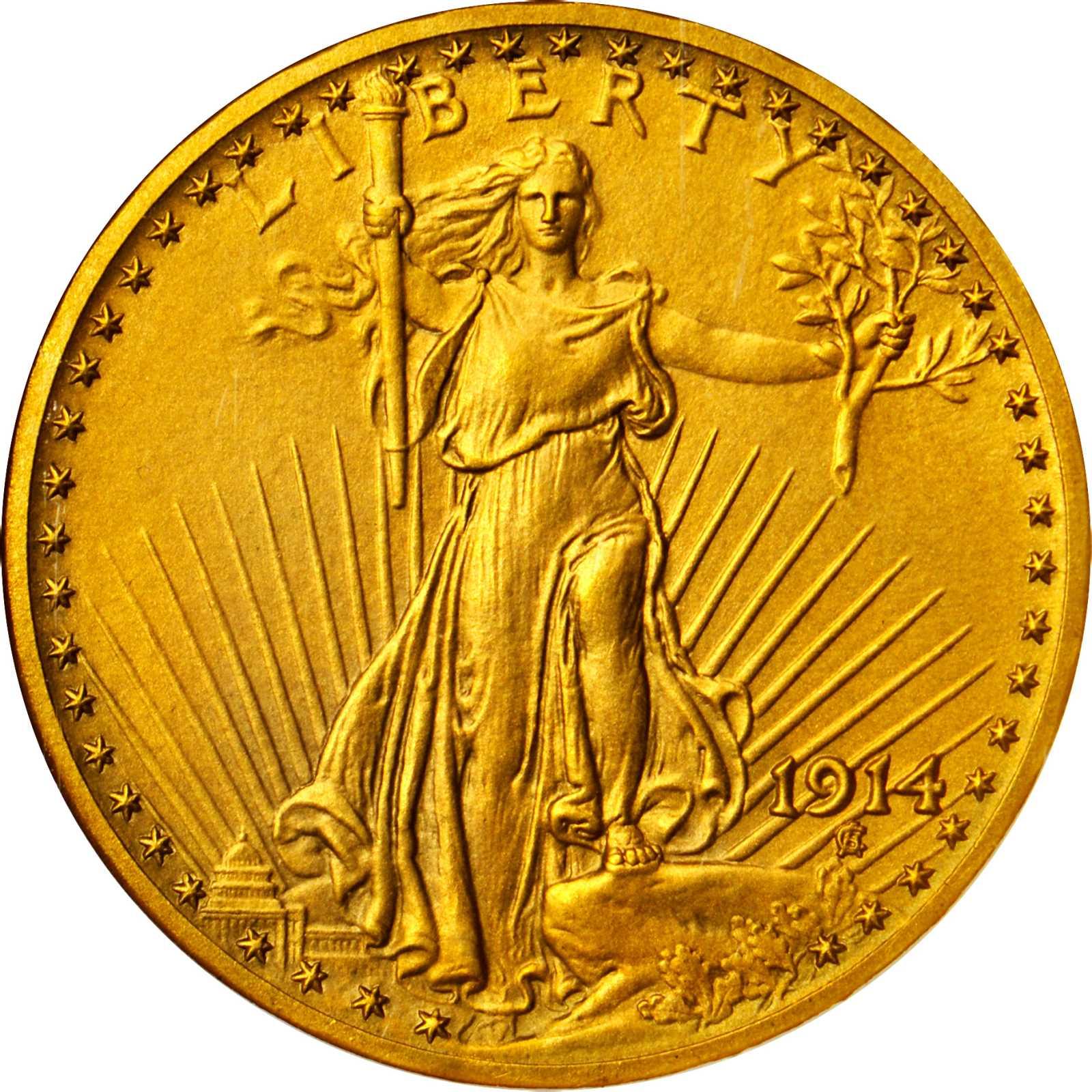 sample image for 1914 $20  PR