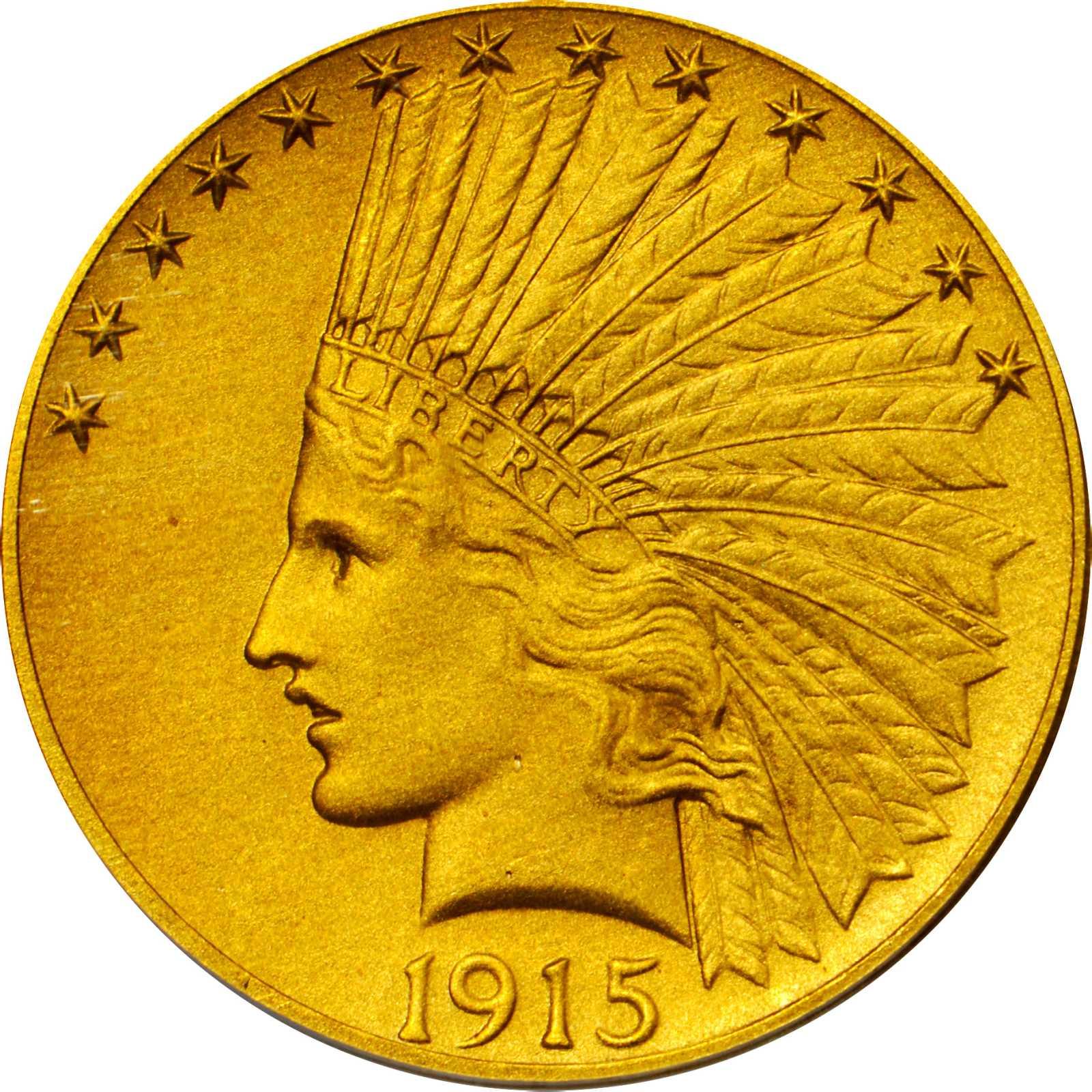 sample image for 1915 $10  PR