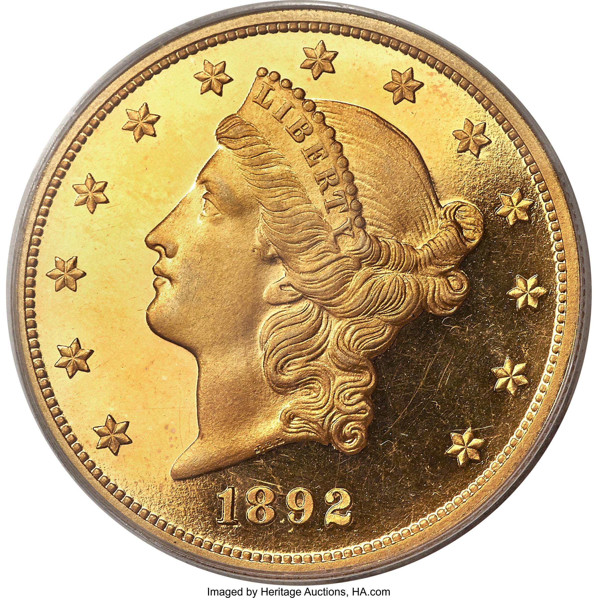 sample image for 1892 $20  PR