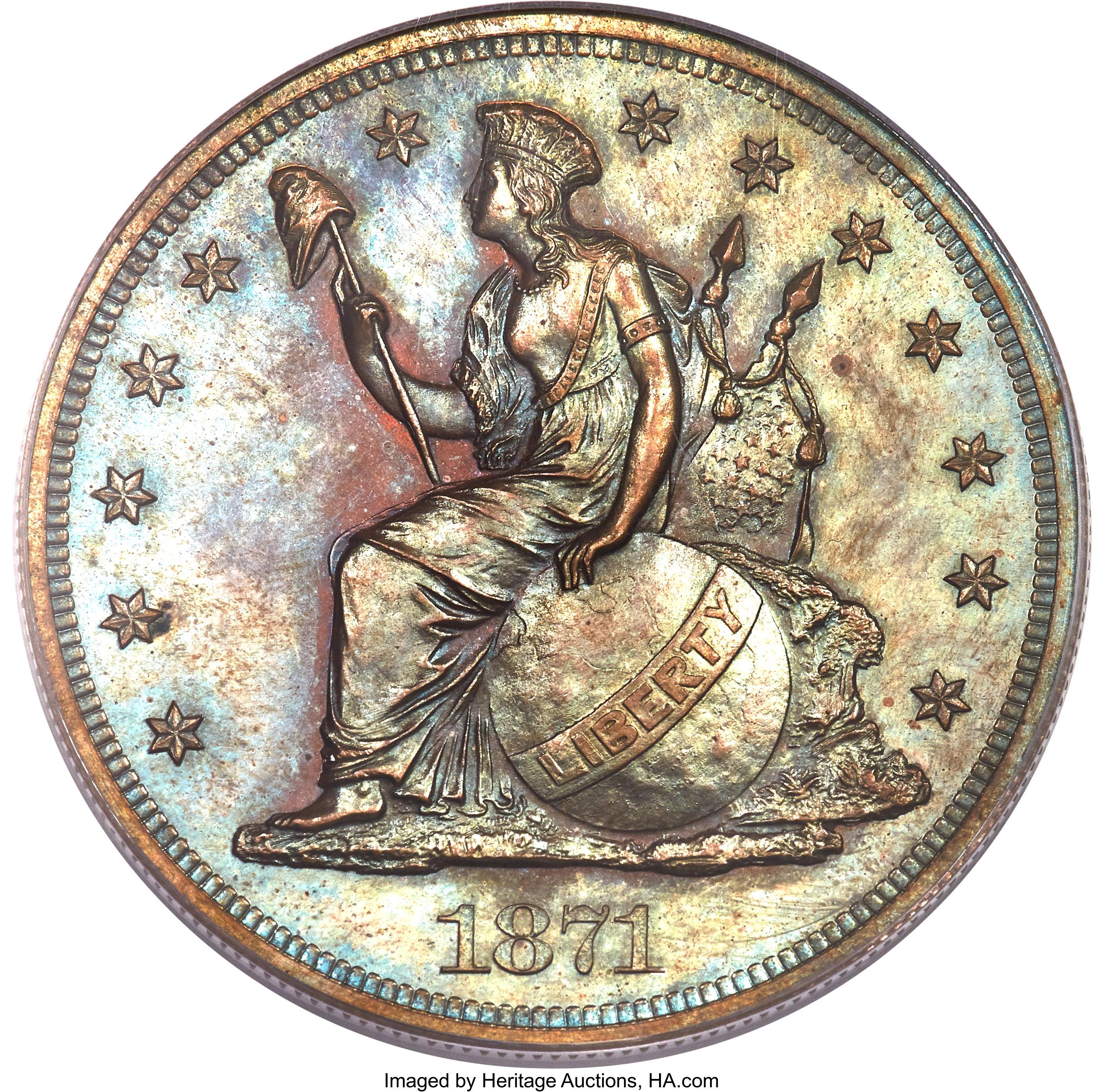 sample image for 1871 P$1 (J-1141) PR BN