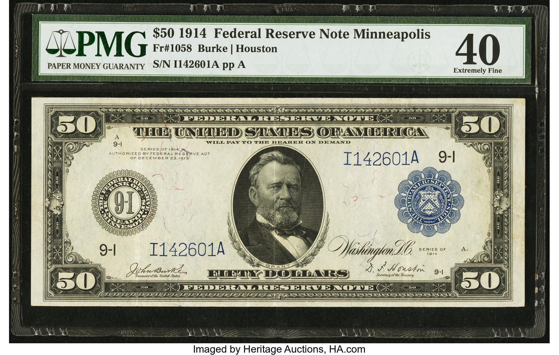 sample image for Fr.1058 $50 Minneapolis