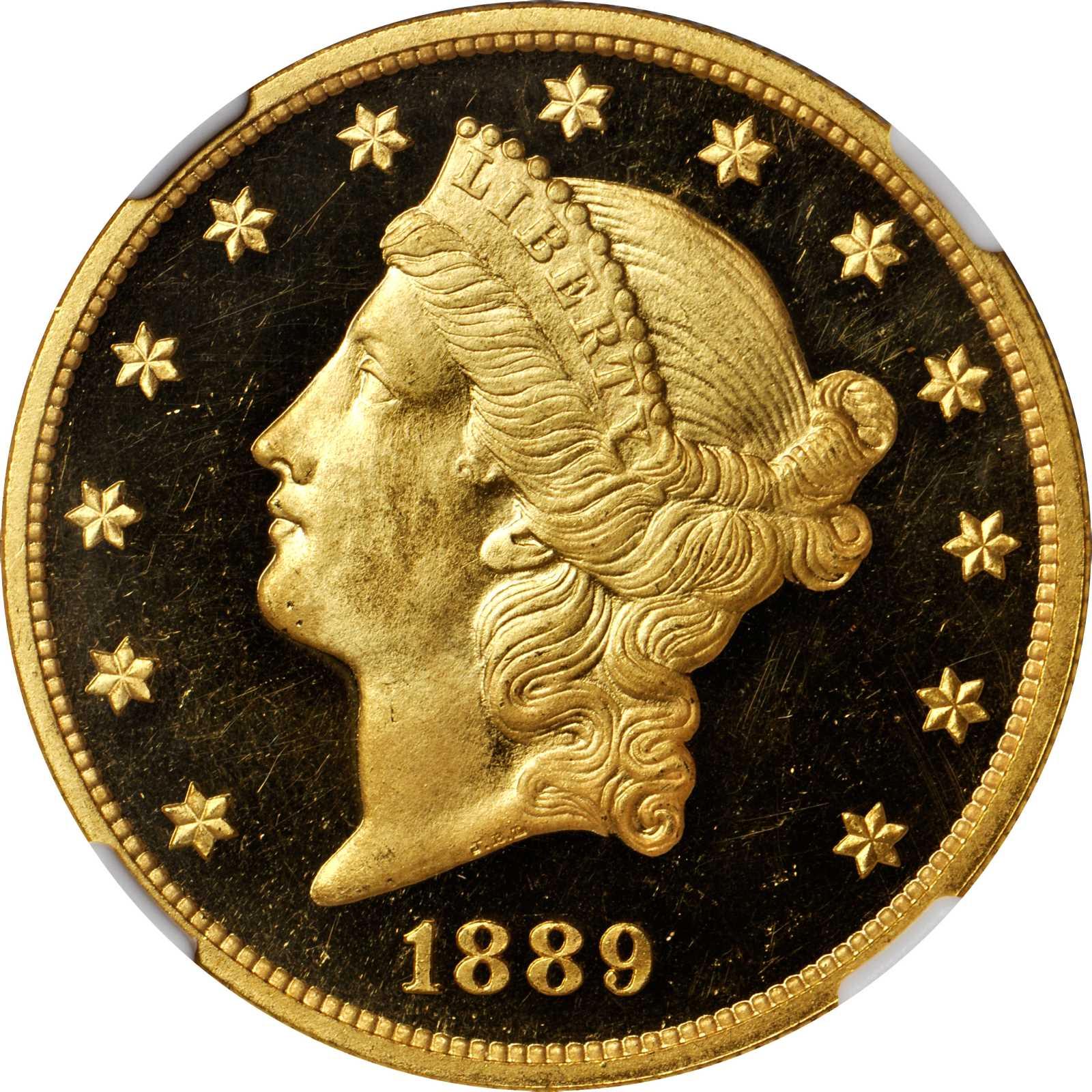 sample image for 1889 $20  PR DCAM