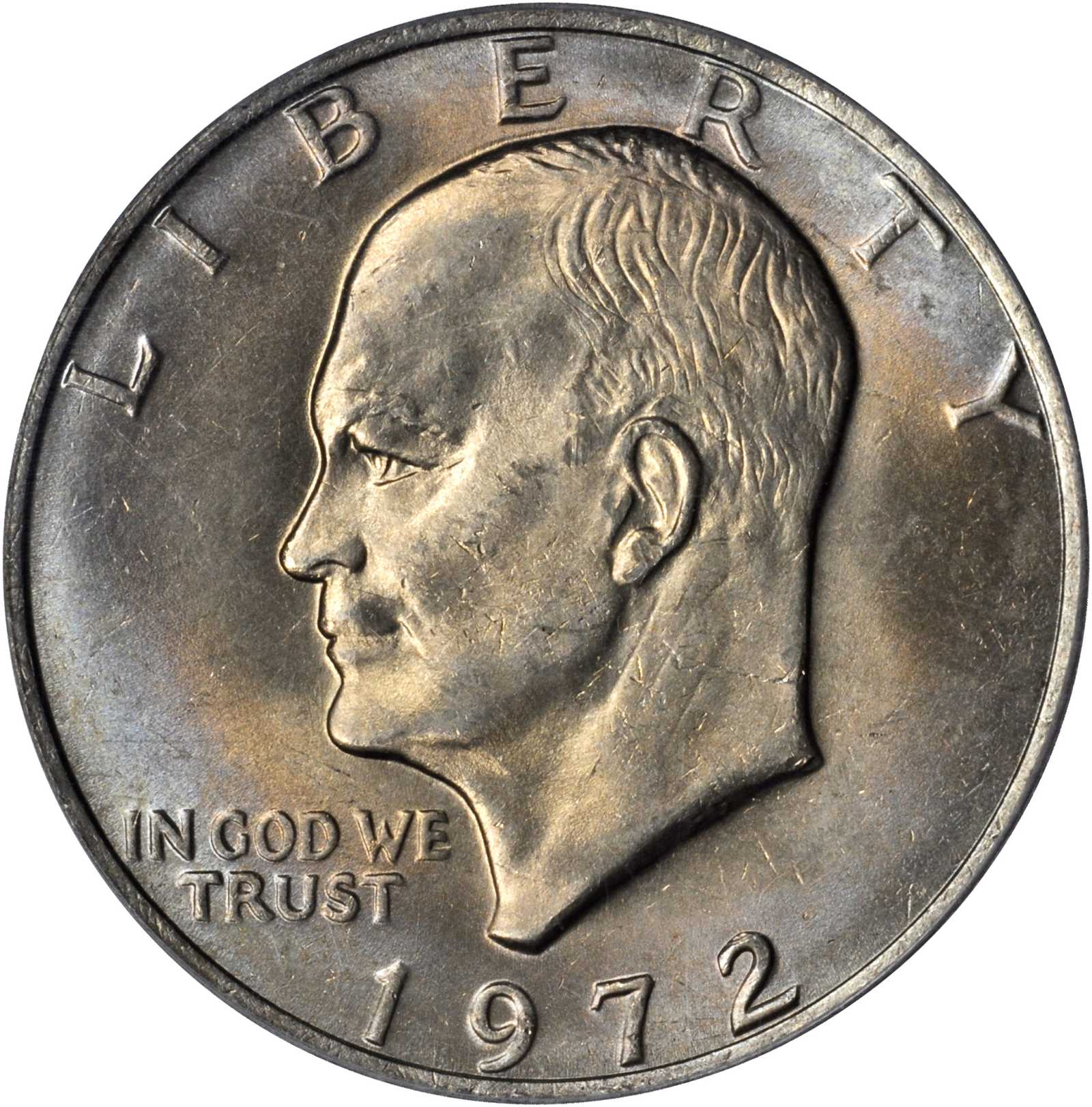 sample image for 1972 $1  MS Type 3