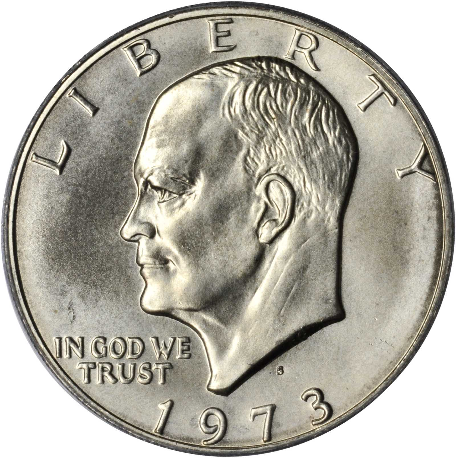 sample image for 1973-S $1  MS Silver