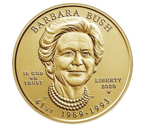 sample image for 2020-W Barbara Bush $10  MS