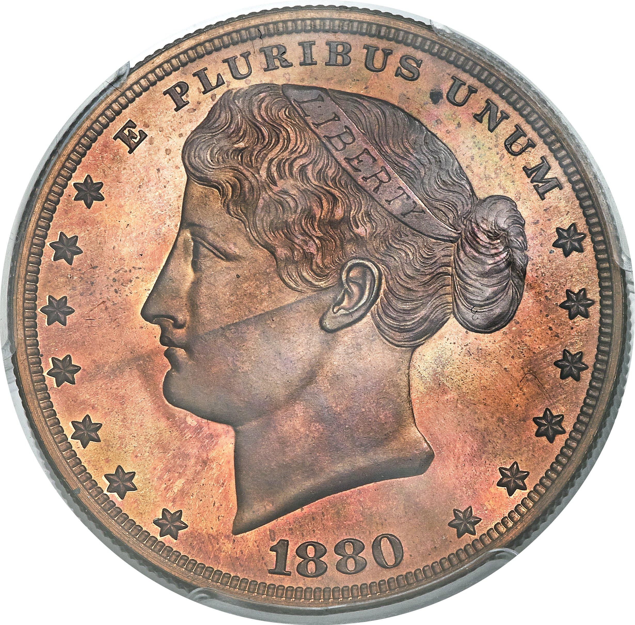 sample image for 1880 J-1649 P$1 PR RB