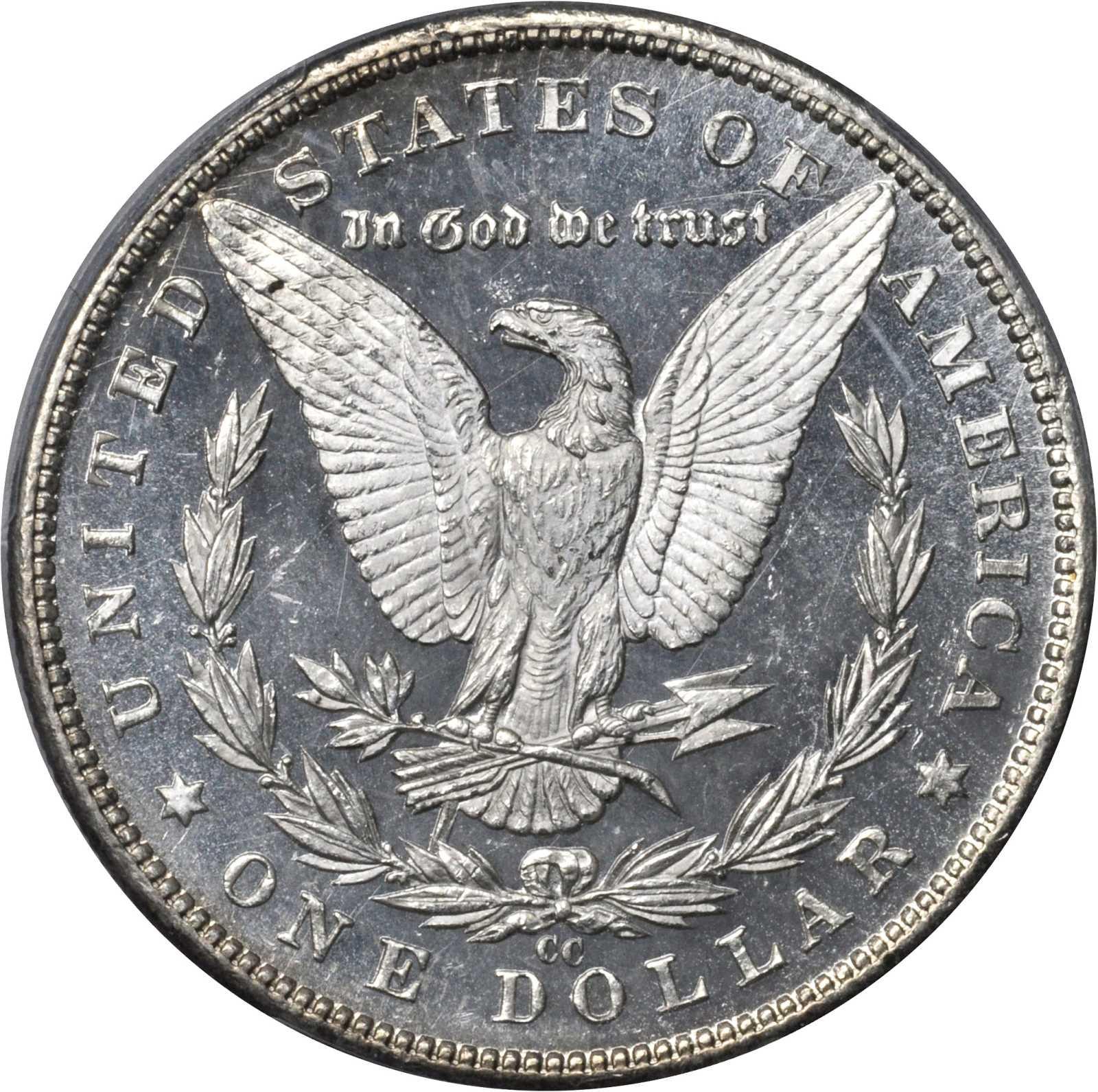 sample image for 1890-CC $1  MS DMPL Tailbar, VAM-4