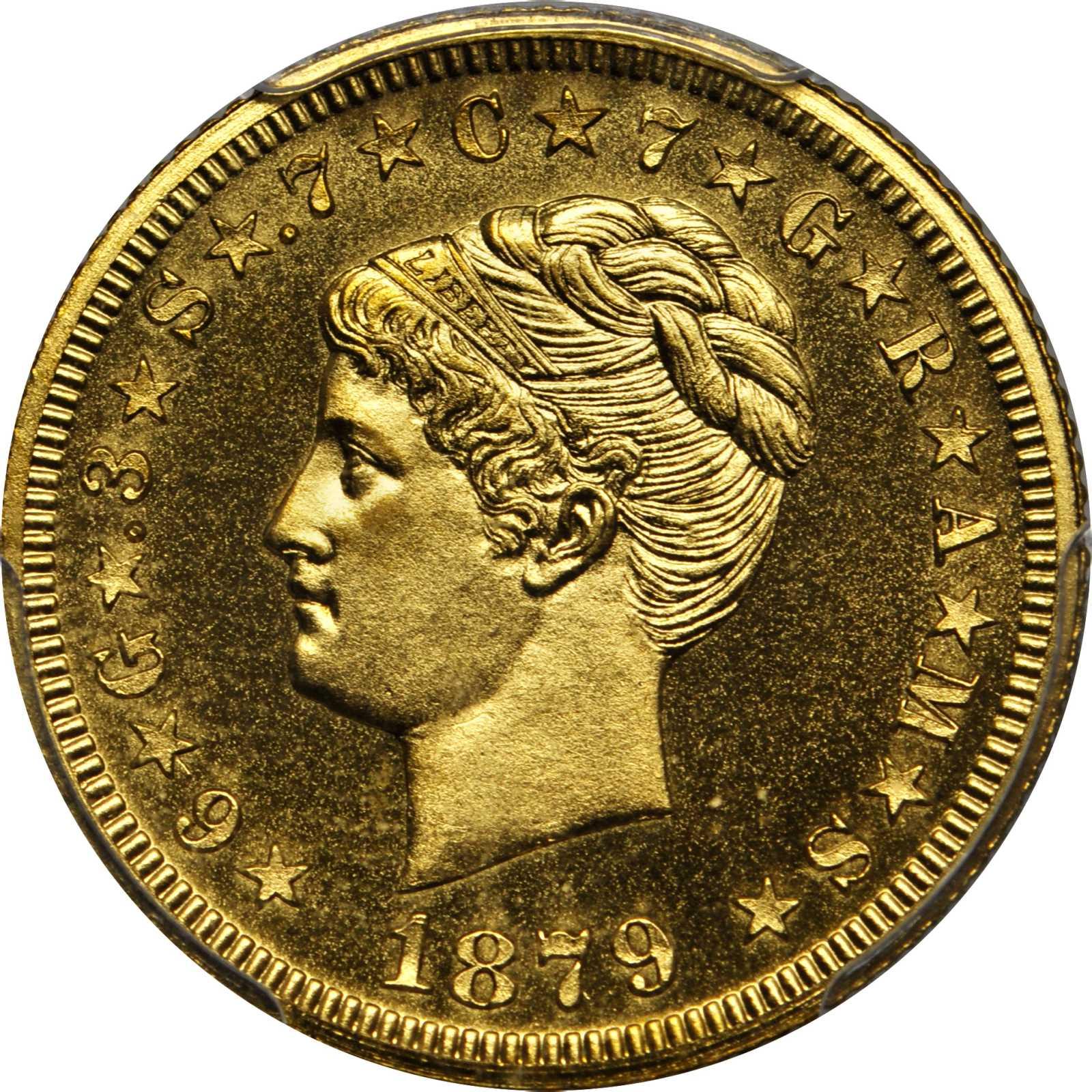sample image for 1879 J-1639 Gilt P$4 PR