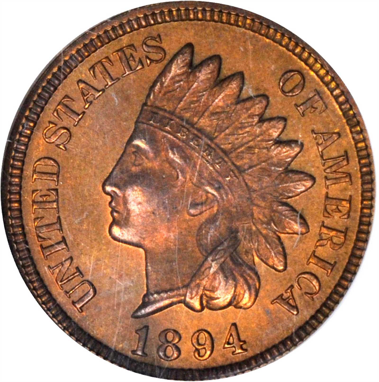 sample image for 1894 1c PR RB