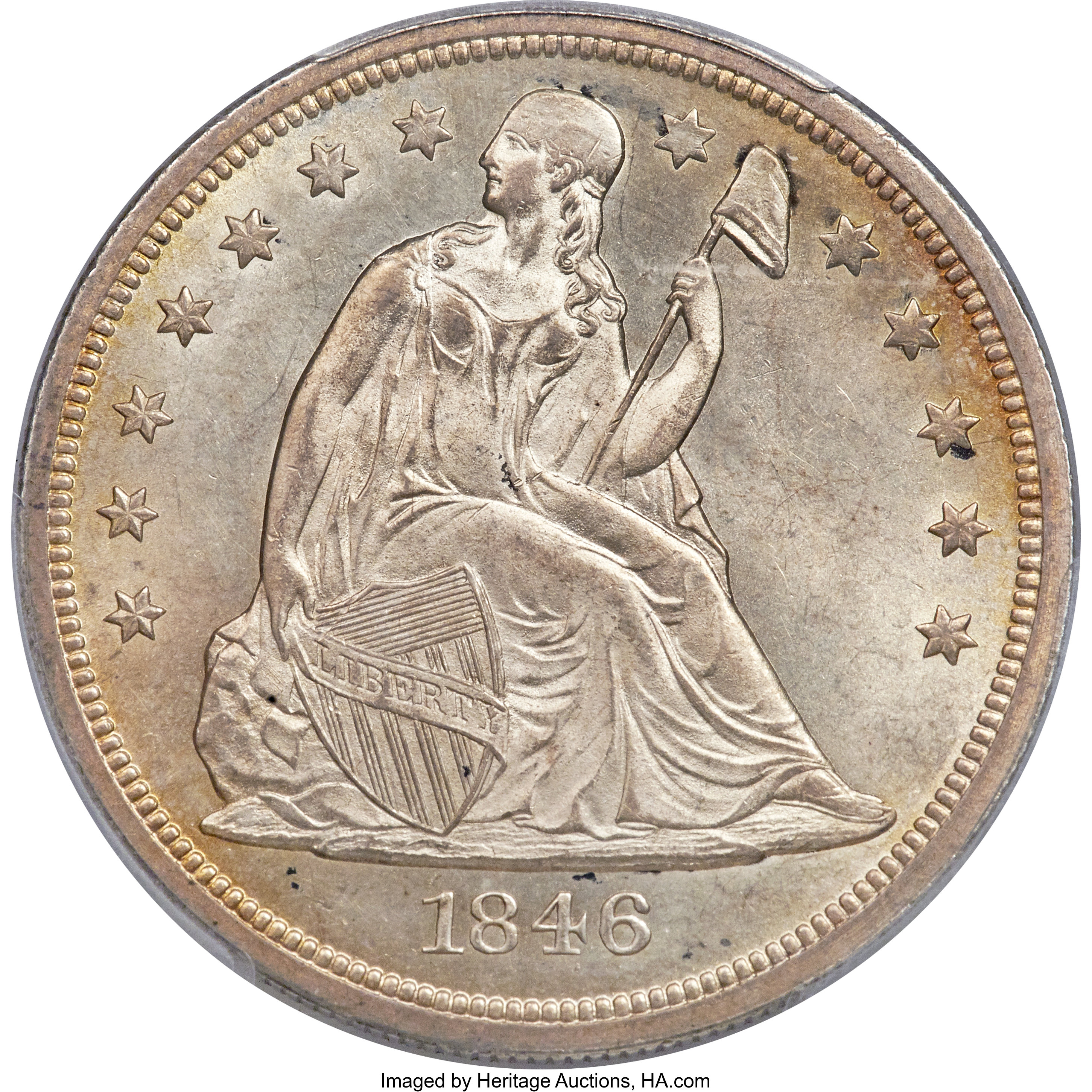 sample image for 1846-O $1  MS