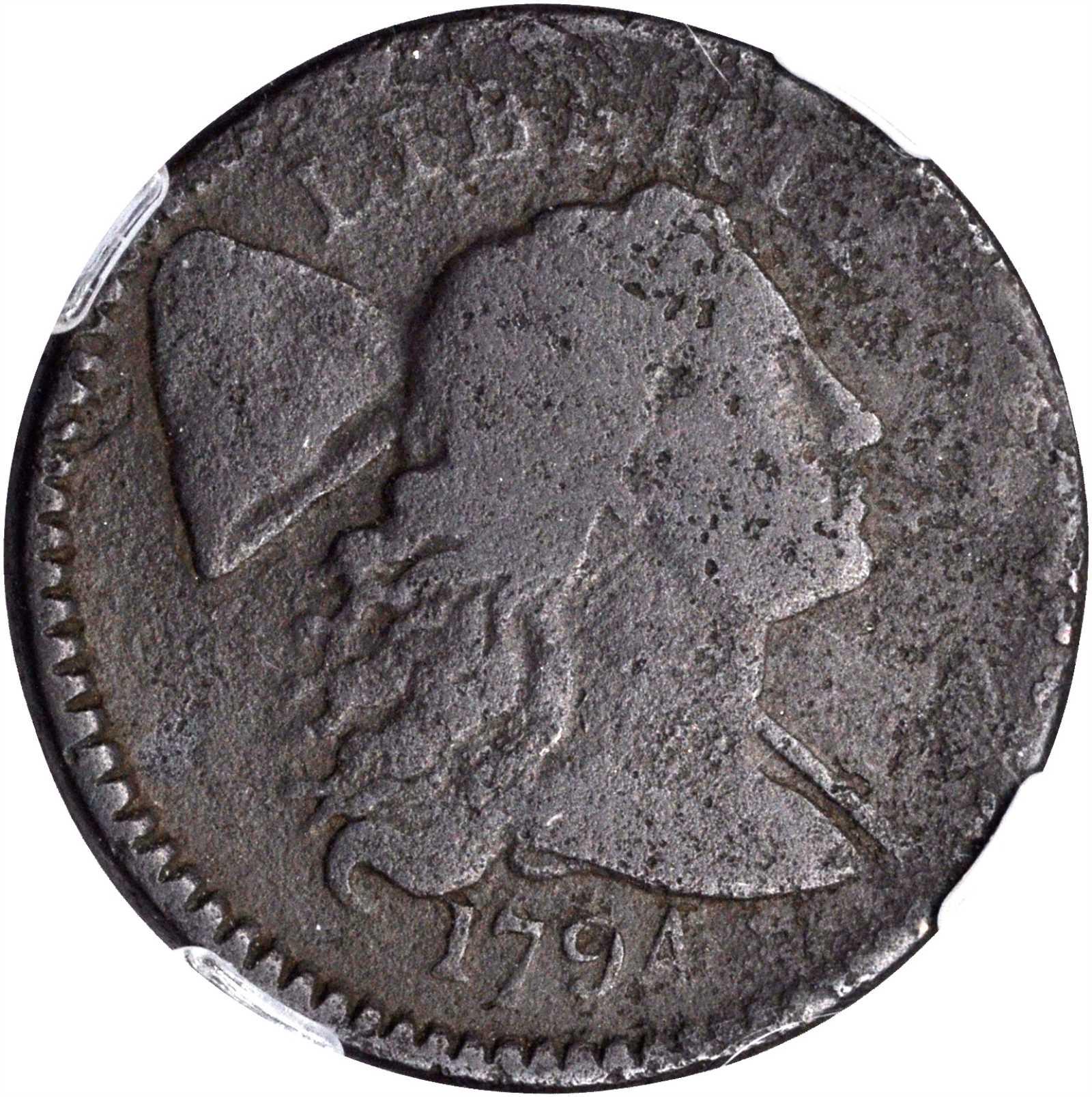 sample image for 1838 J-87, Restrike PS$1 PR RB