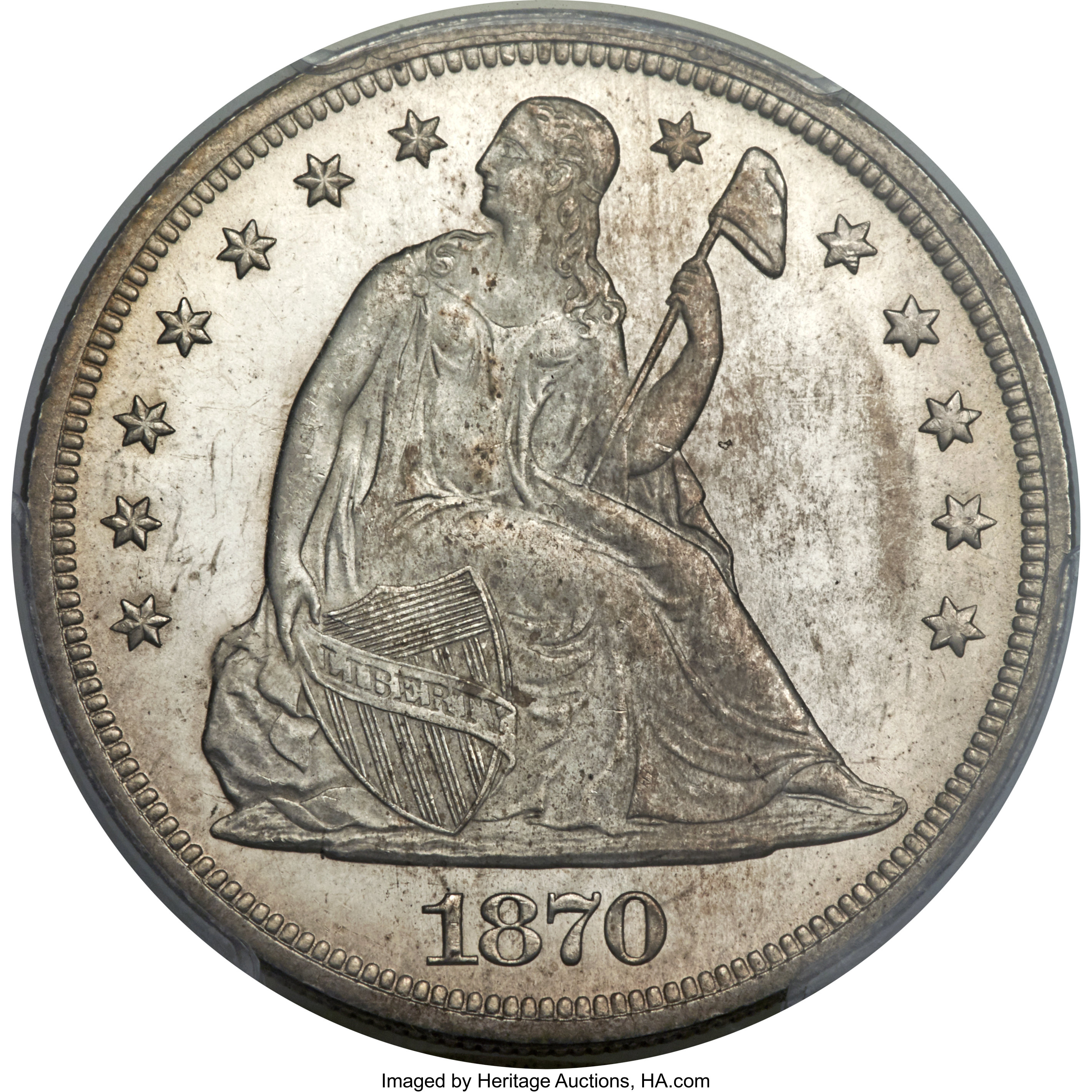 sample image for 1870 $1  MS