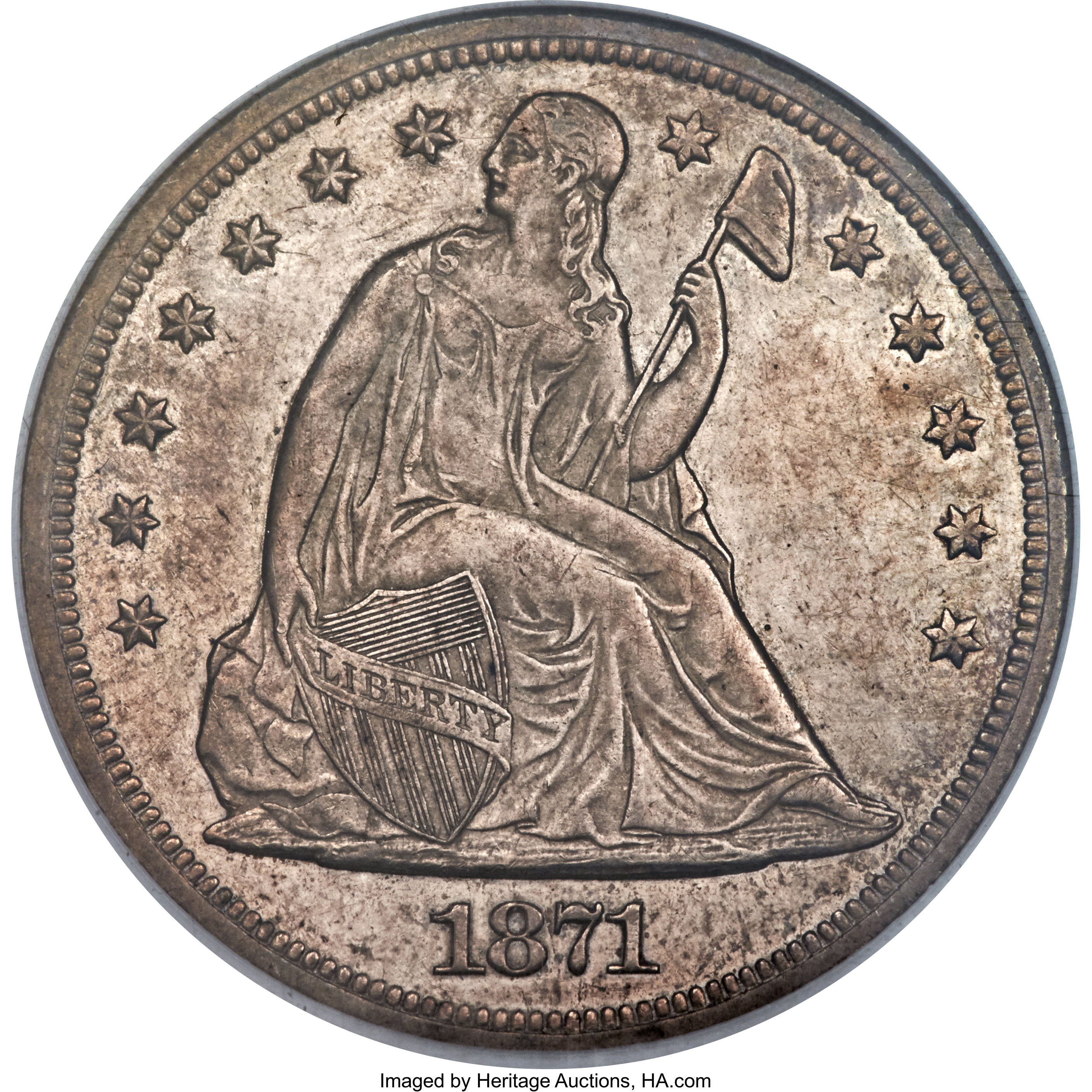 sample image for 1871-CC $1  MS