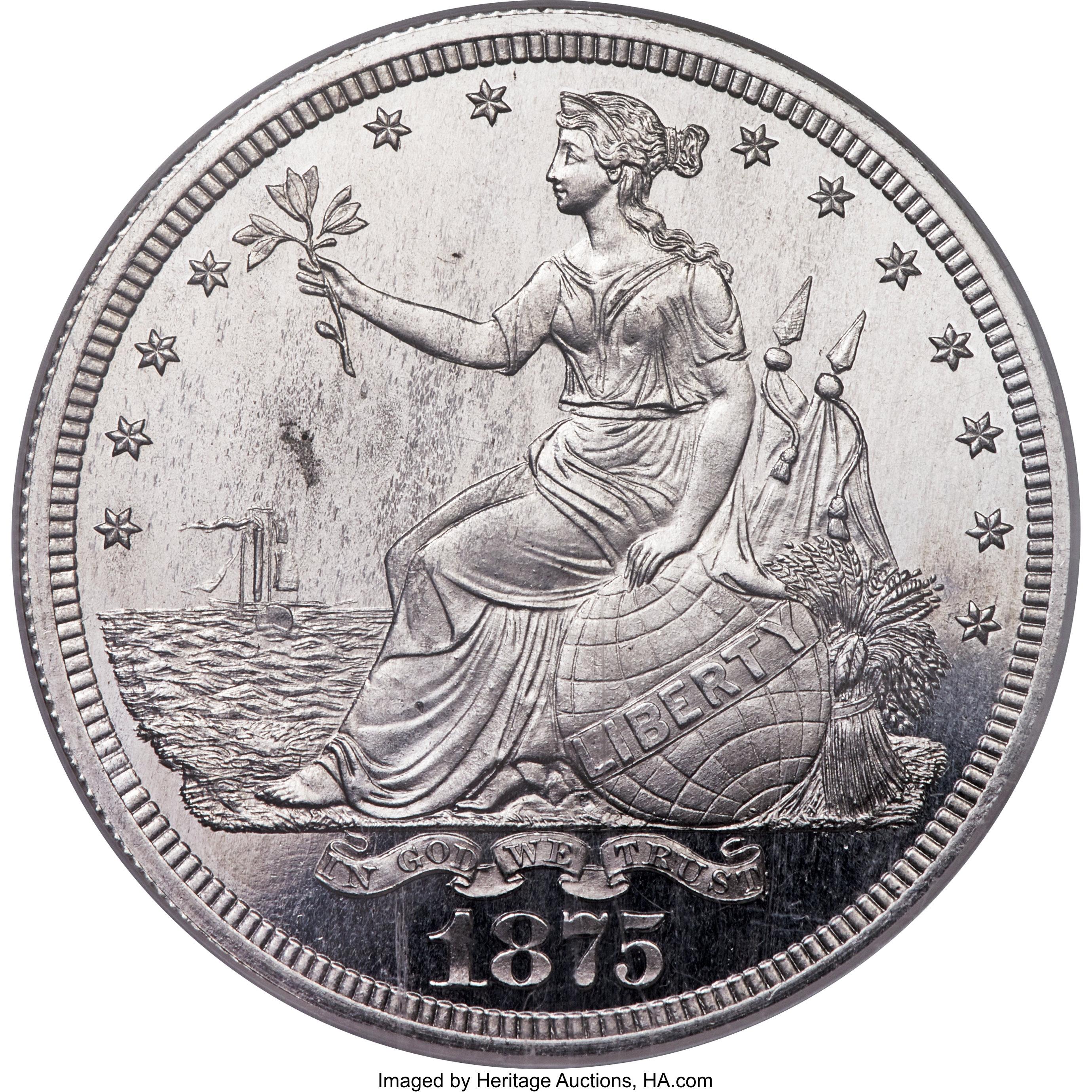 sample image for 1875 PT$1 (J-1428) PR