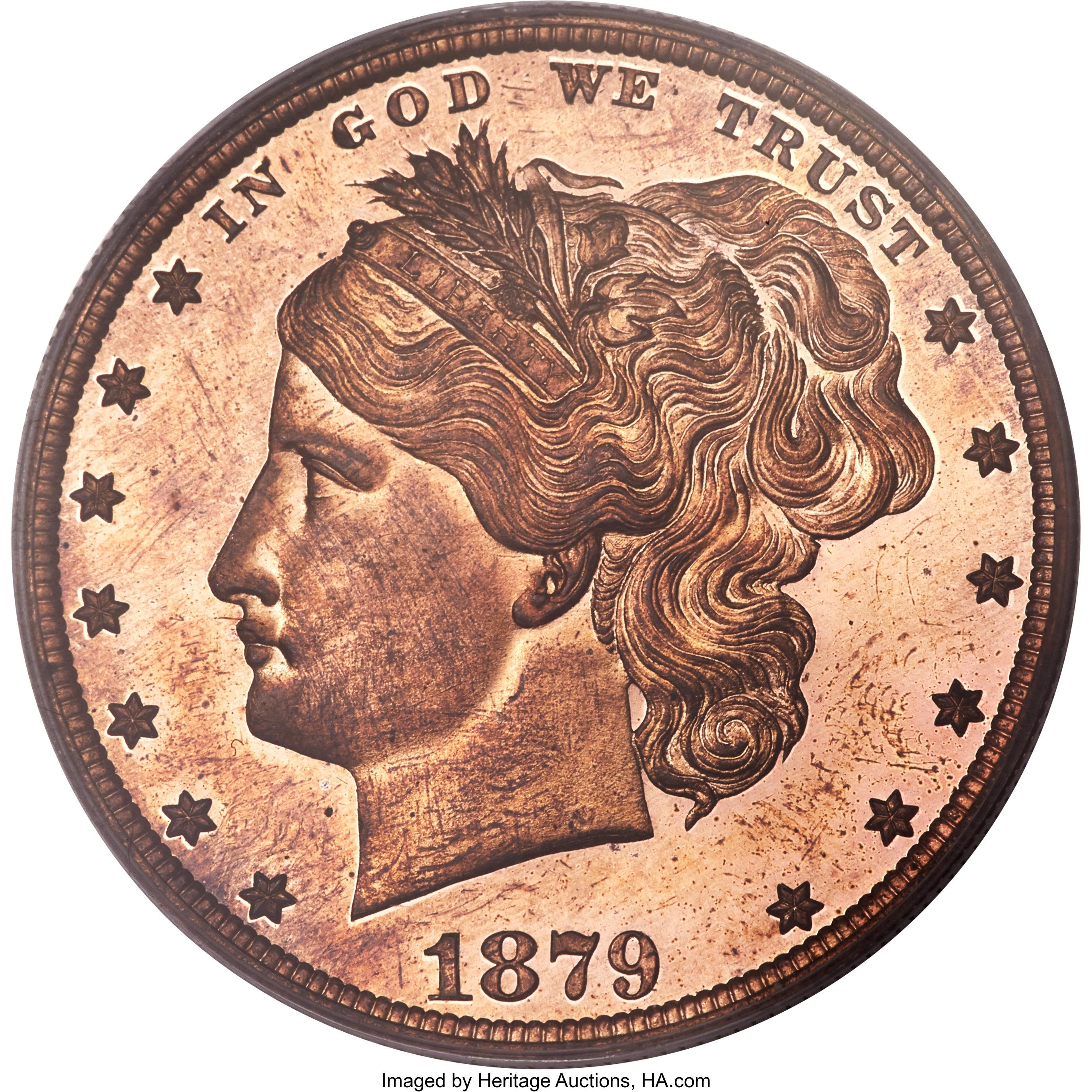 sample image for 1879 J-1604 P$1 PR RD