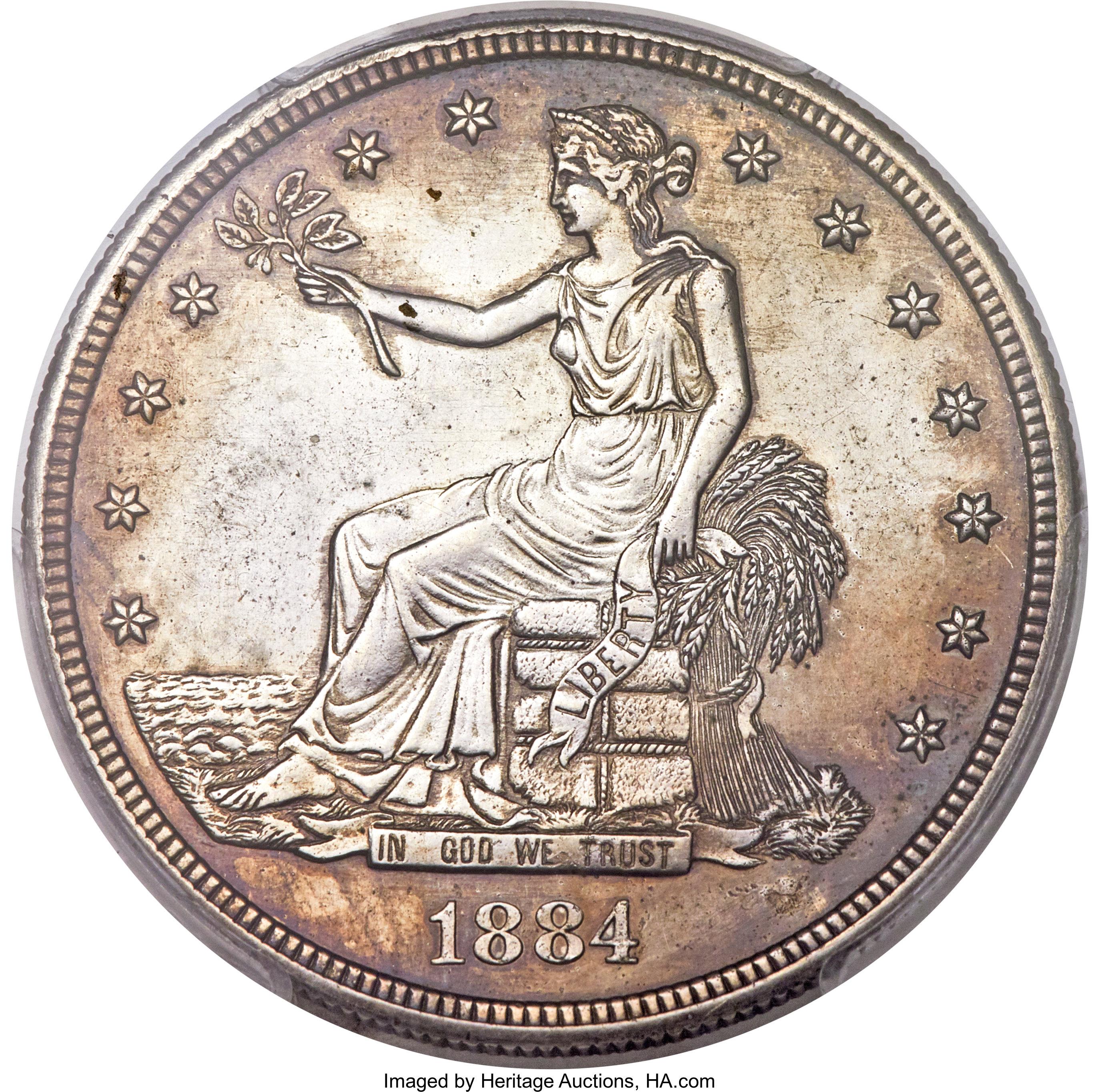sample image for 1884 J-1732 PT$1 PR BN