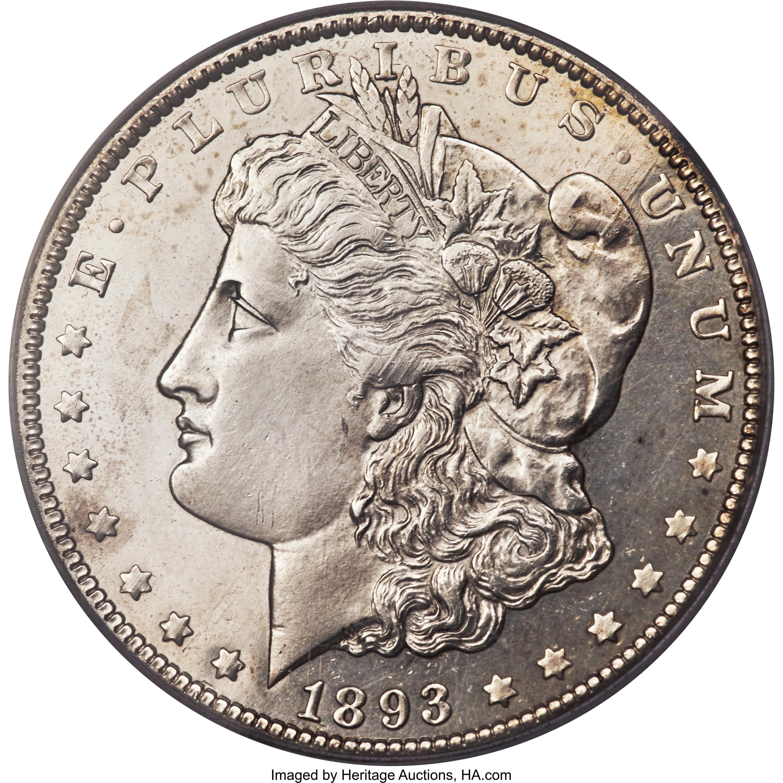 sample image for 1893-O $1  MS DMPL