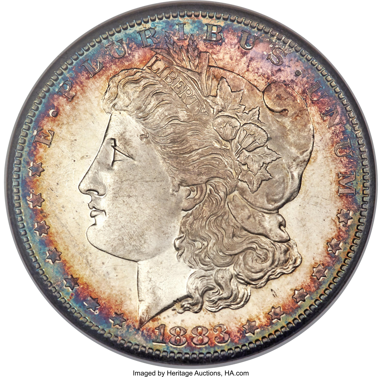 sample image for 1883-S $1  MS DMPL