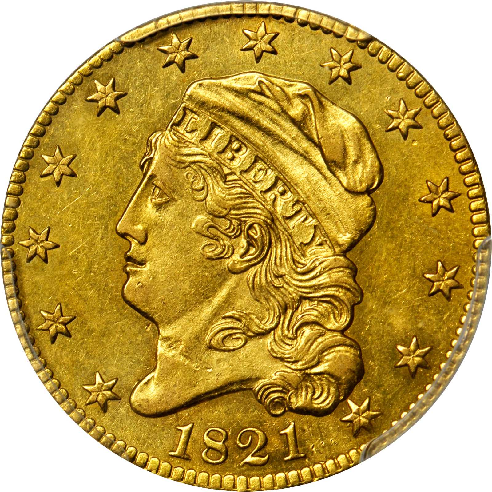 sample image for 1821 $5  MS