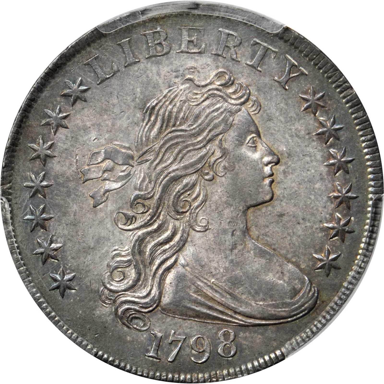 sample image for 1798 Large Eagle $1  MS Knob 9