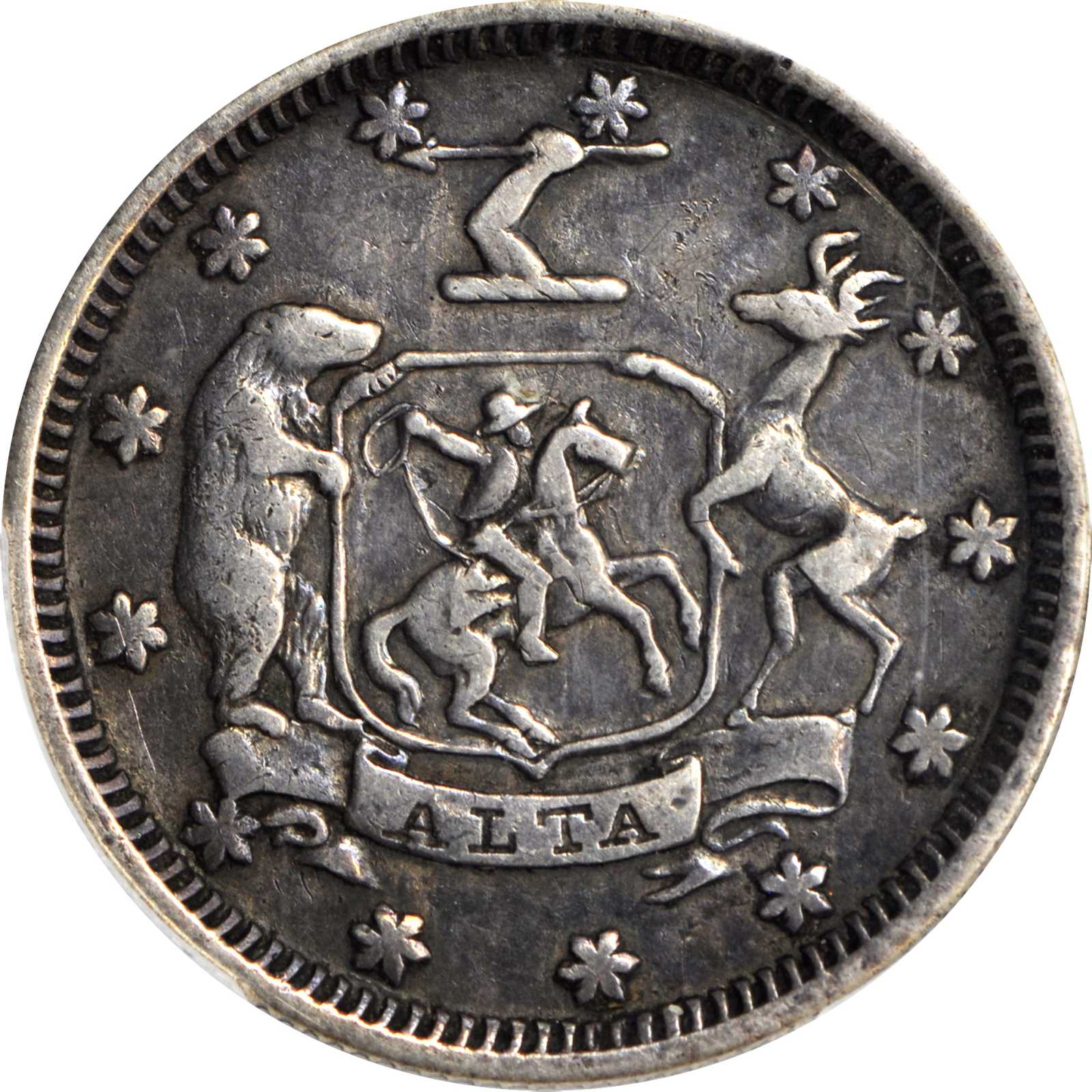 sample image for 1849 $5 Mass & Cal, Silver