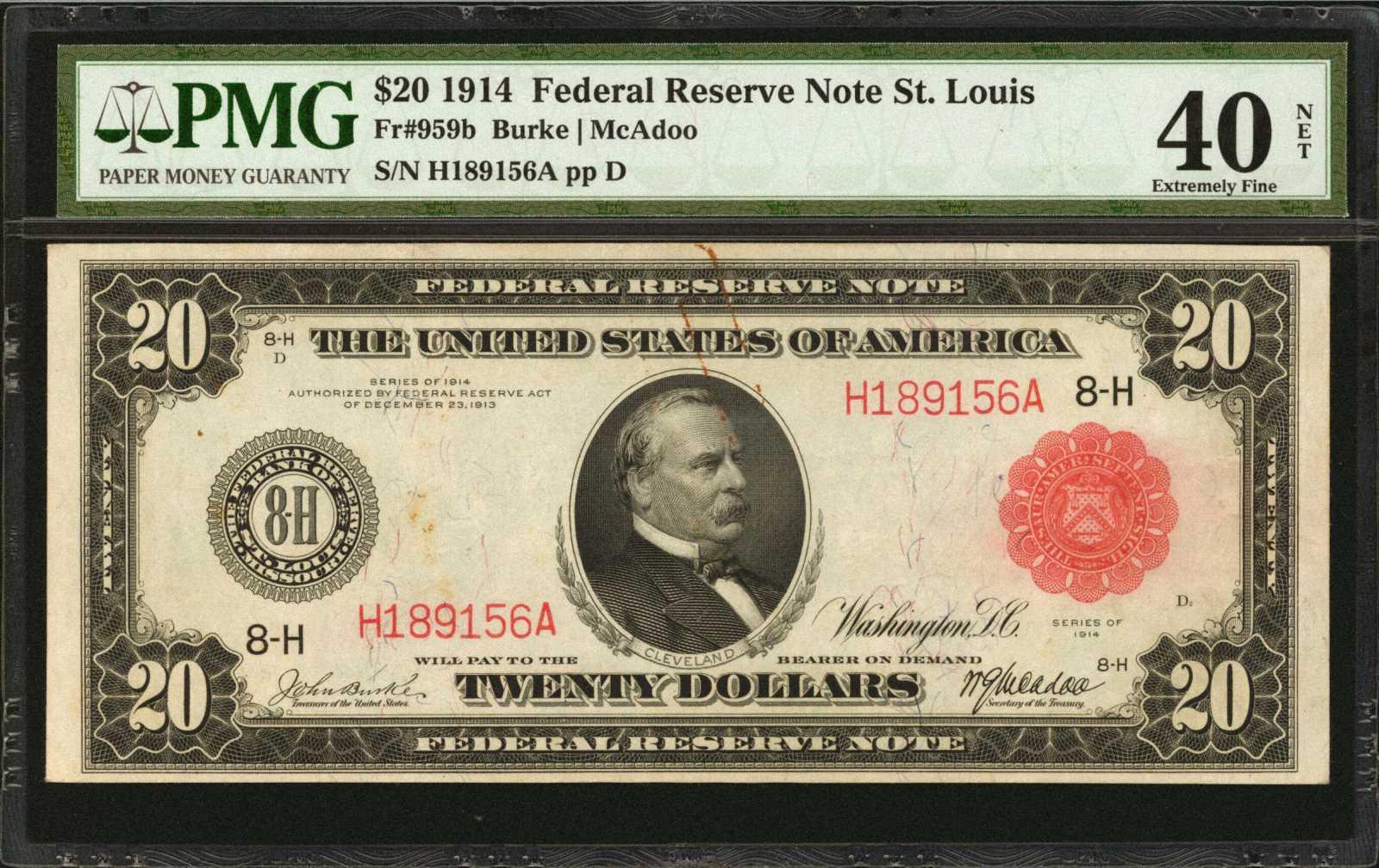 sample image for Fr.959B $20 St.L RS