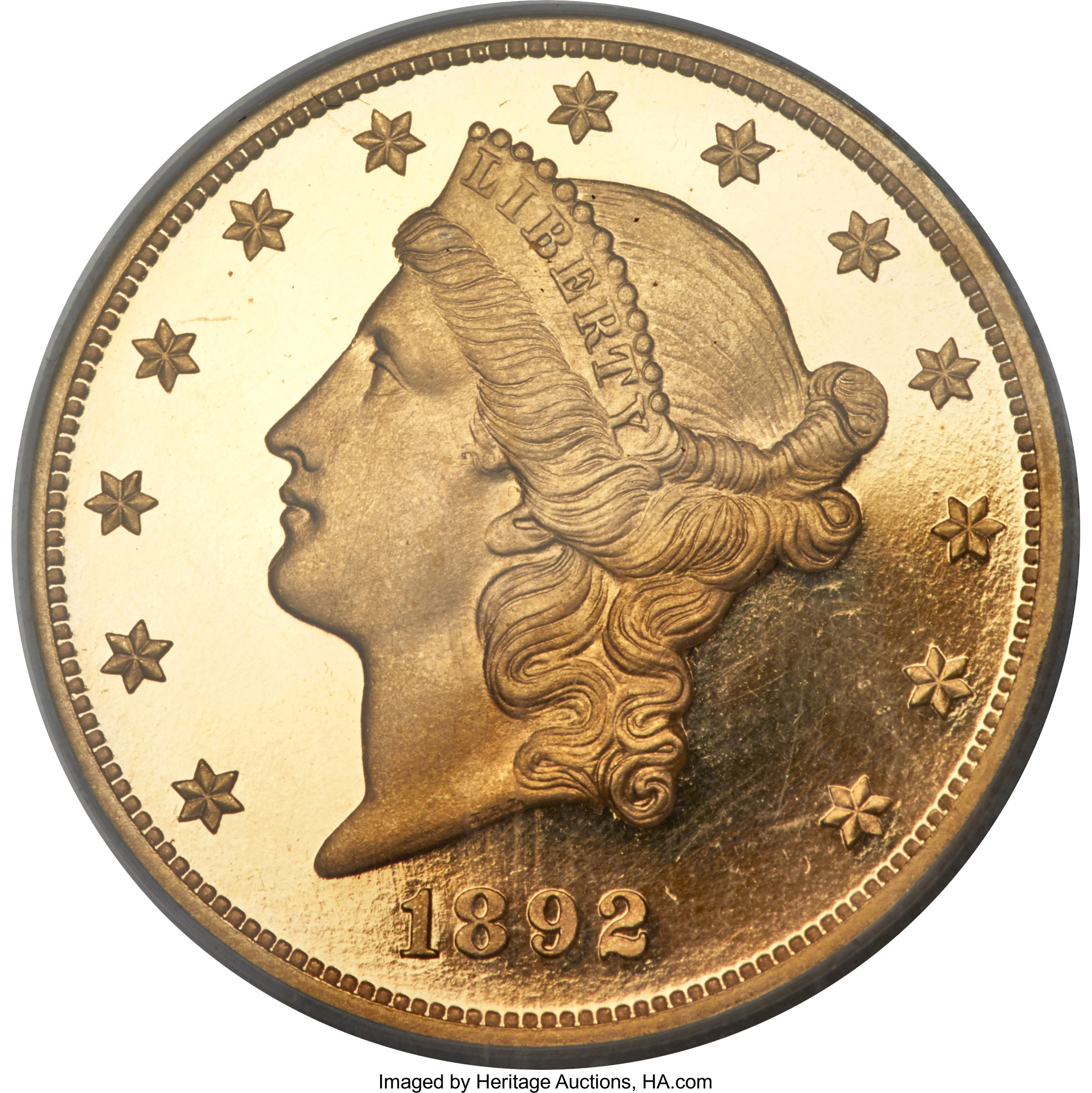 sample image for 1892 $20  PR DCAM