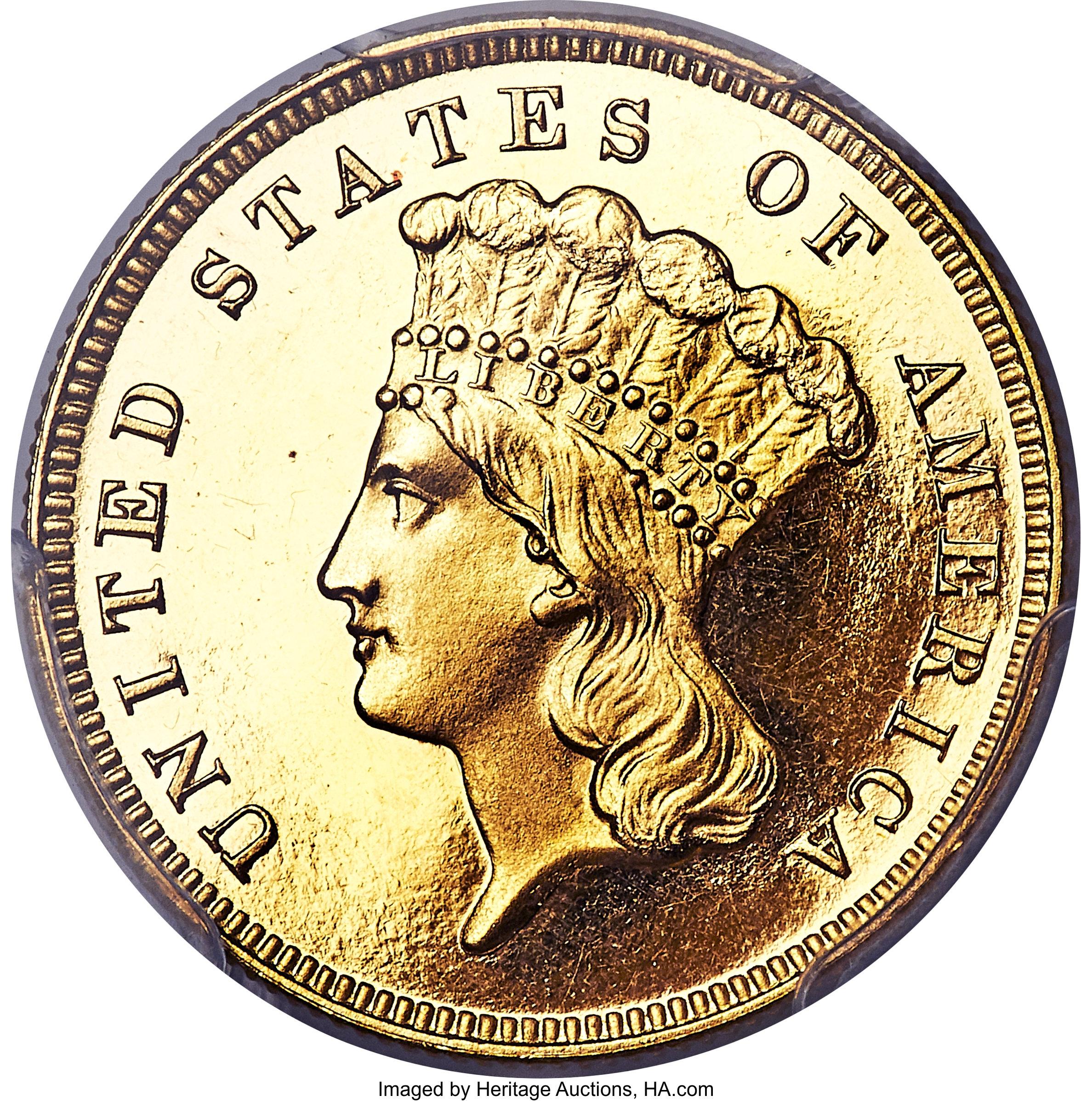 sample image for 1886 $3  PR DCAM