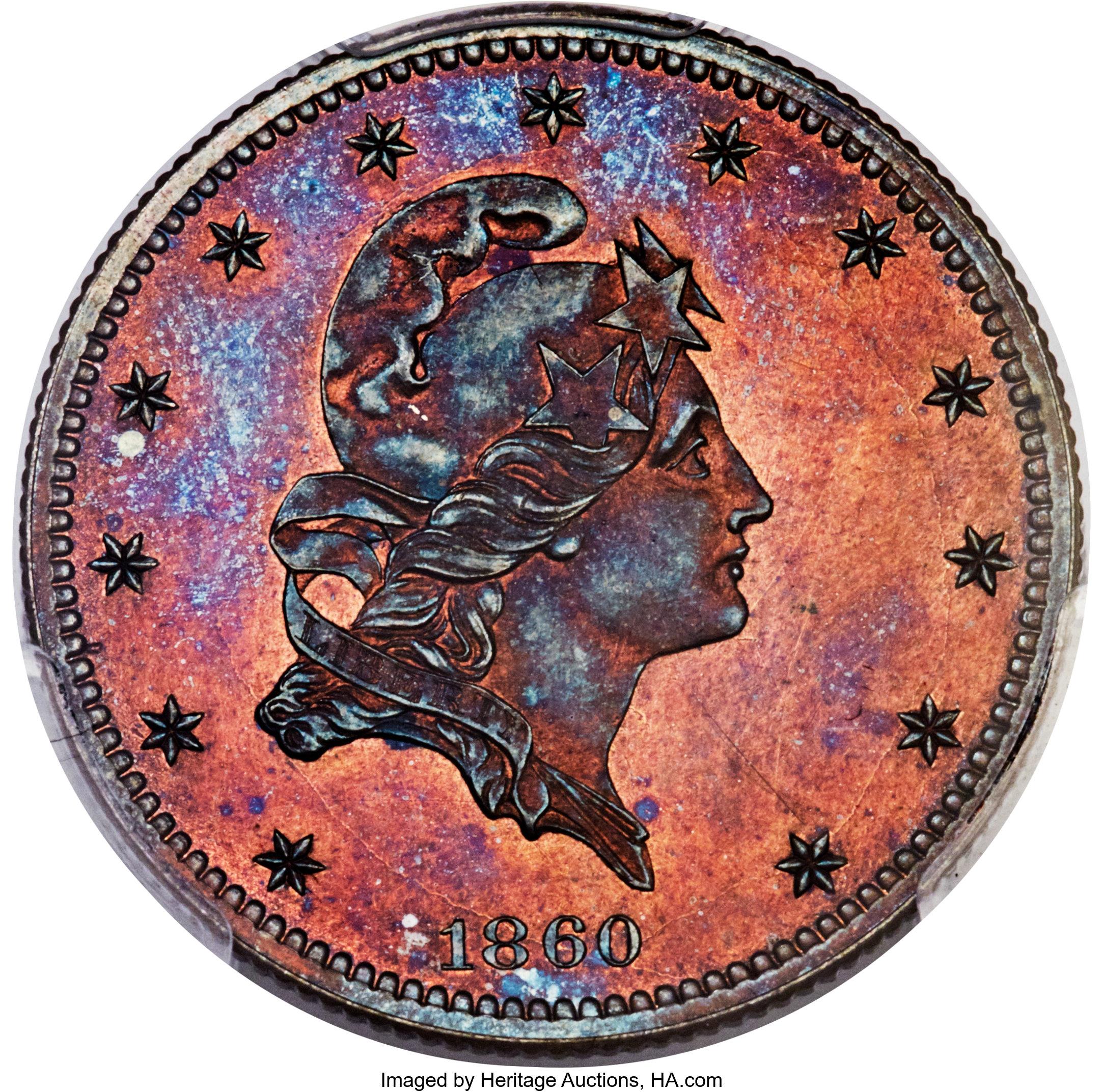sample image for 1860 J-272 P$5 PR RB
