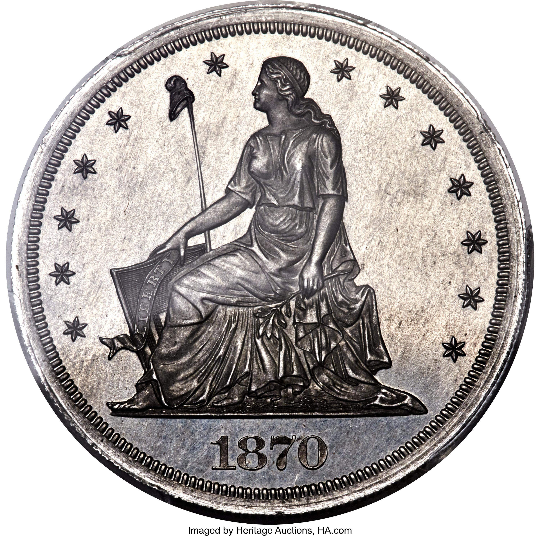 sample image for 1870 P$1 (J-1006) PR