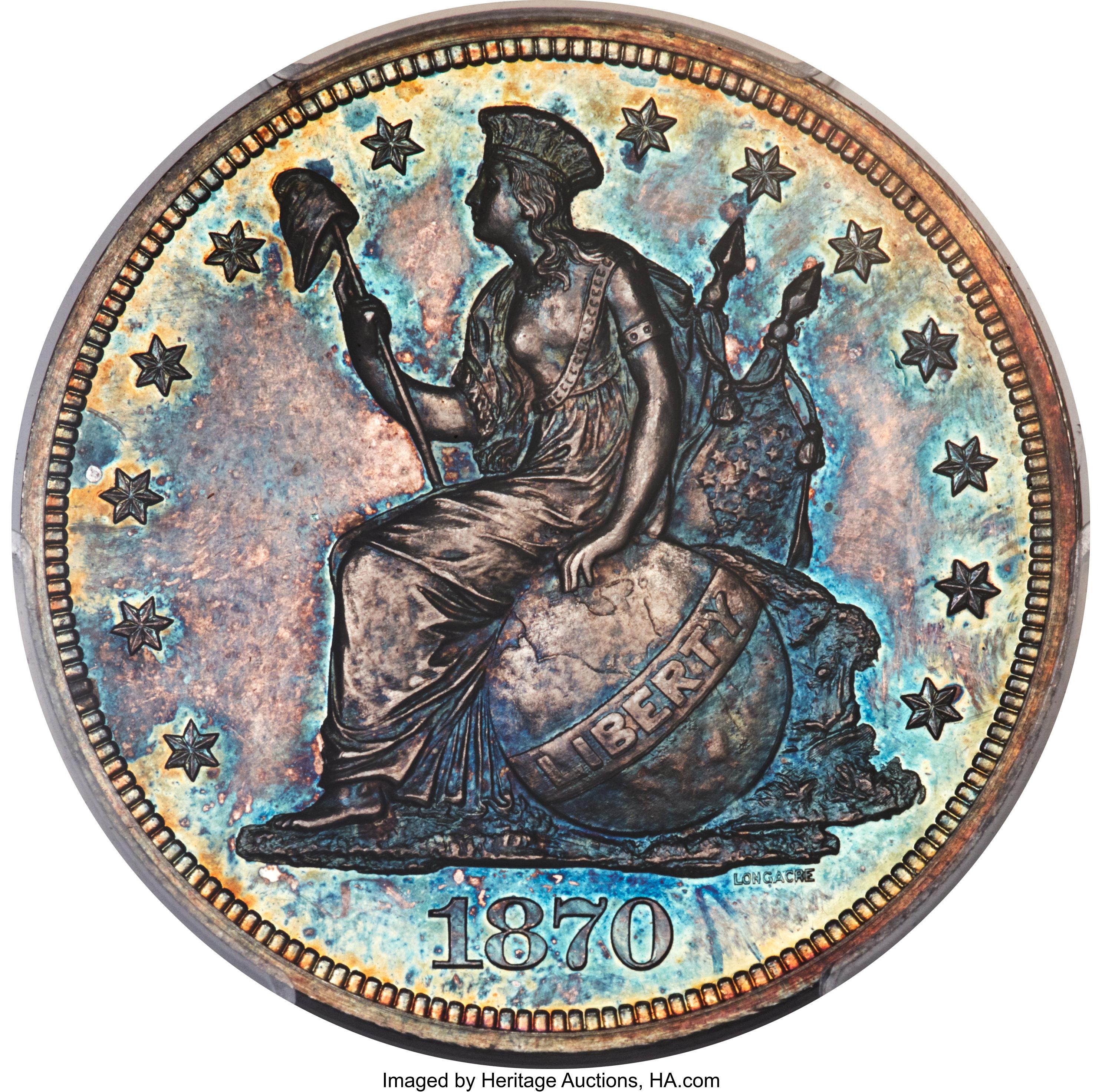 sample image for 1870 P$1 (J-1015) PR