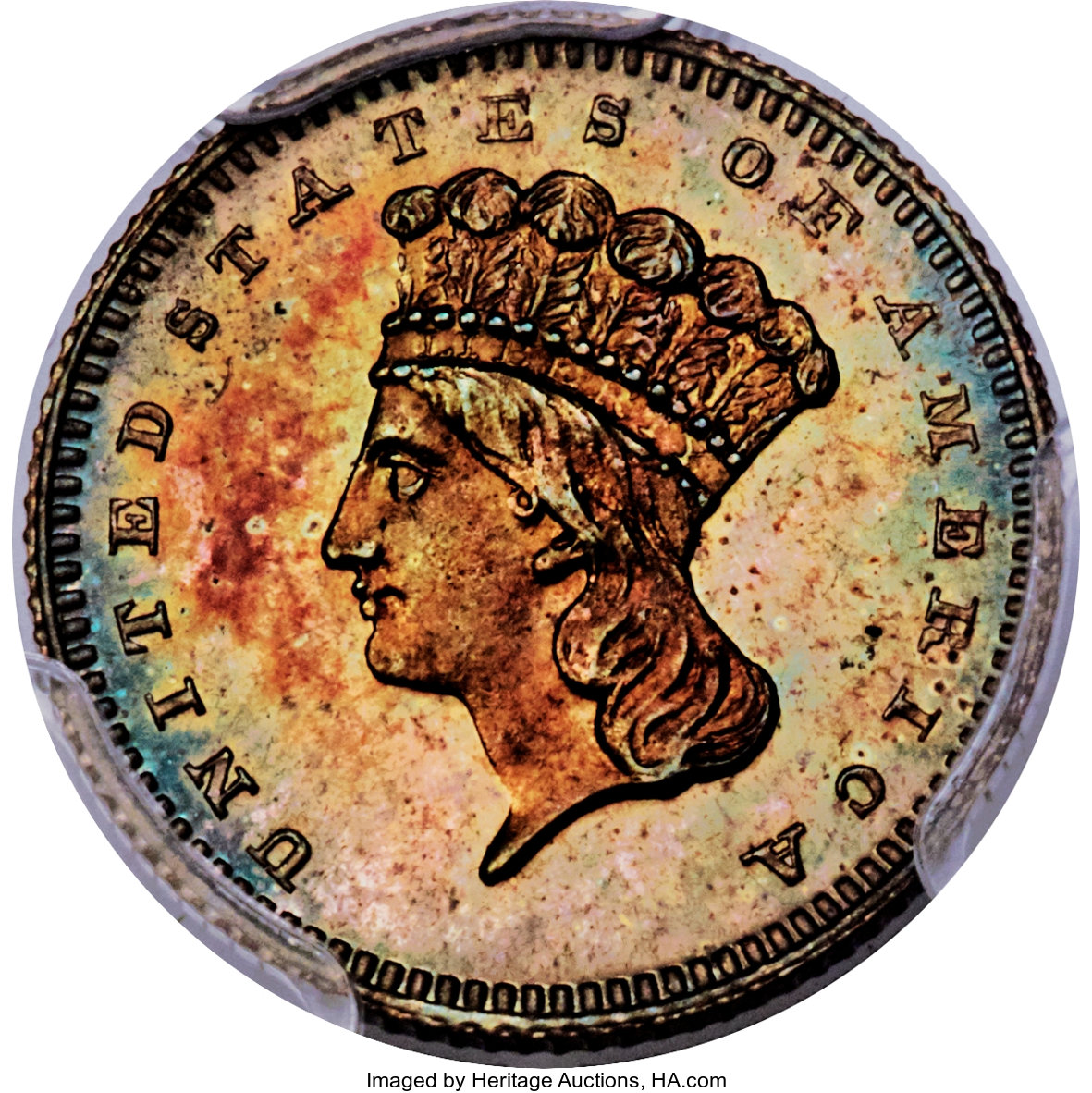 sample image for 1872 G$1 (J-1227) PR BN