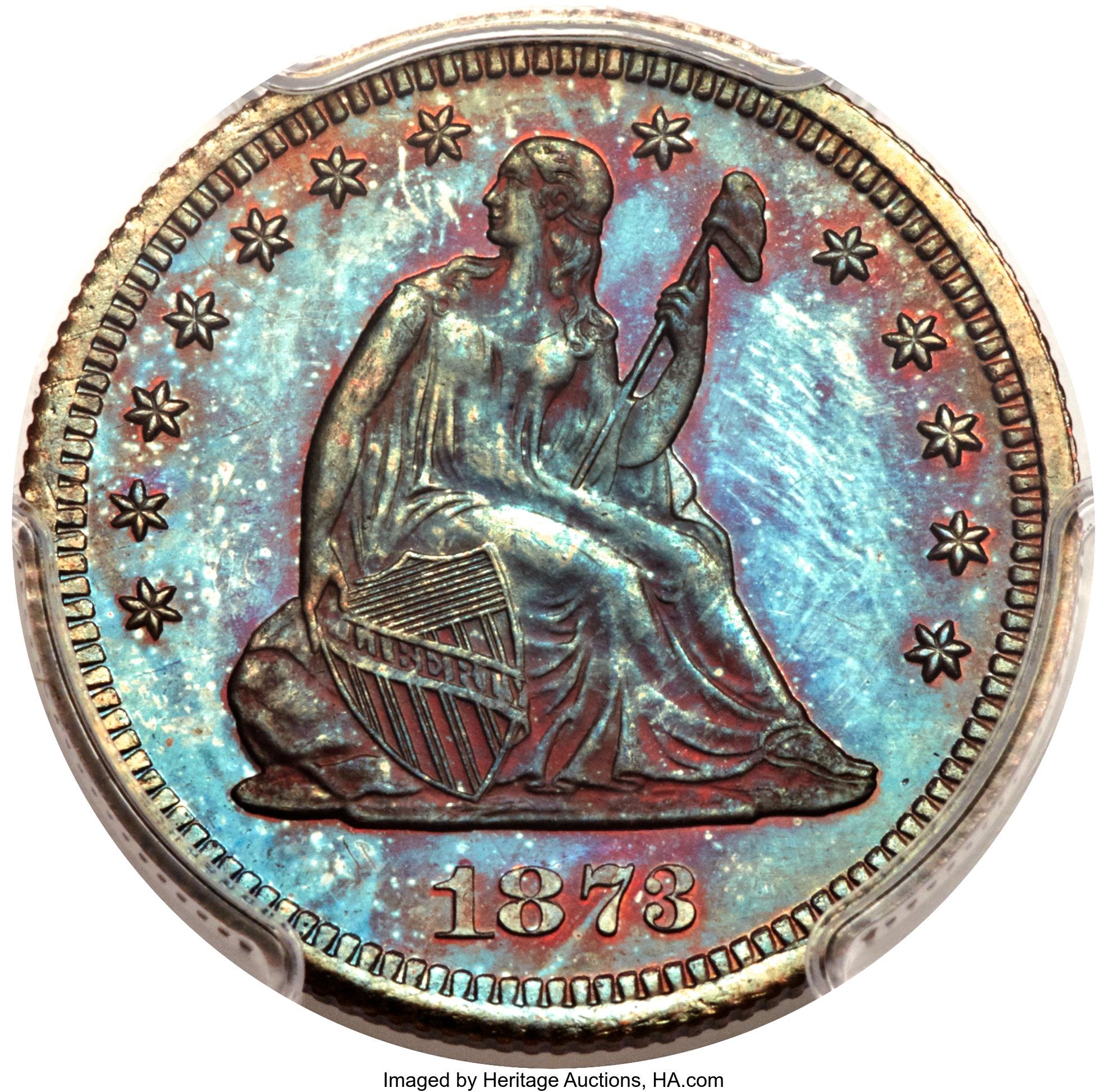 sample image for 1873 P25c (J-1270) PR RB