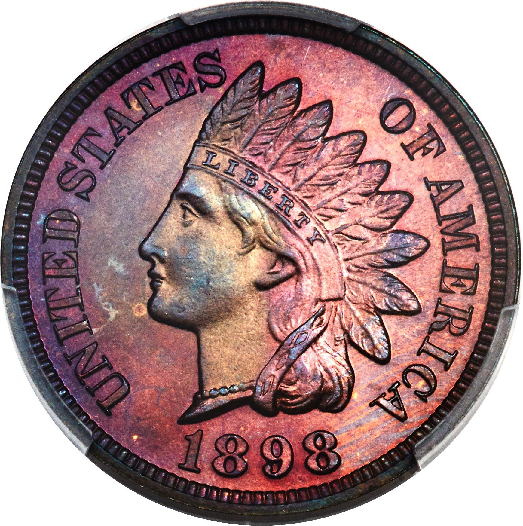 sample image for 1898 1c PR BN