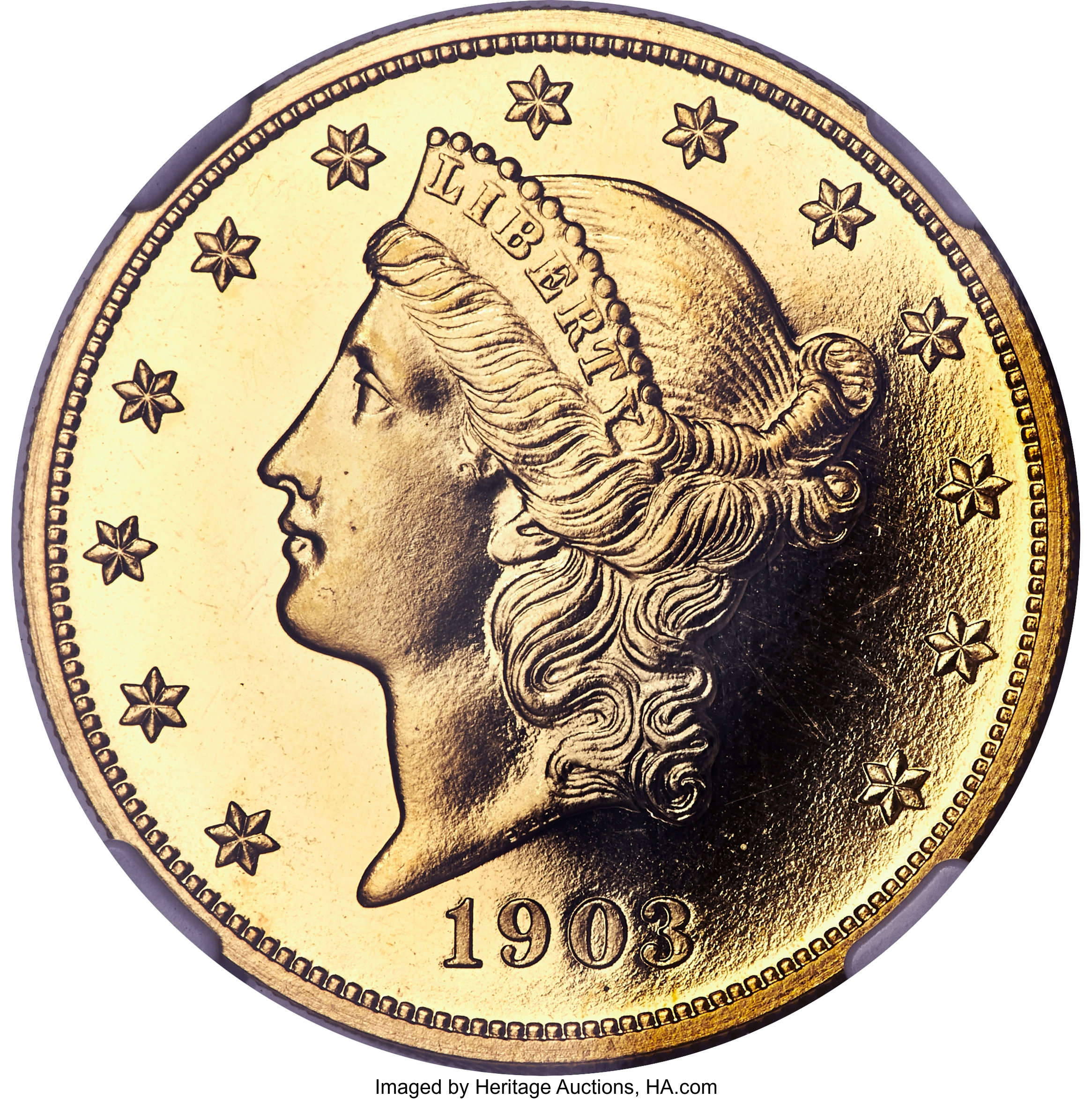 sample image for 1903 $20  PR CAM