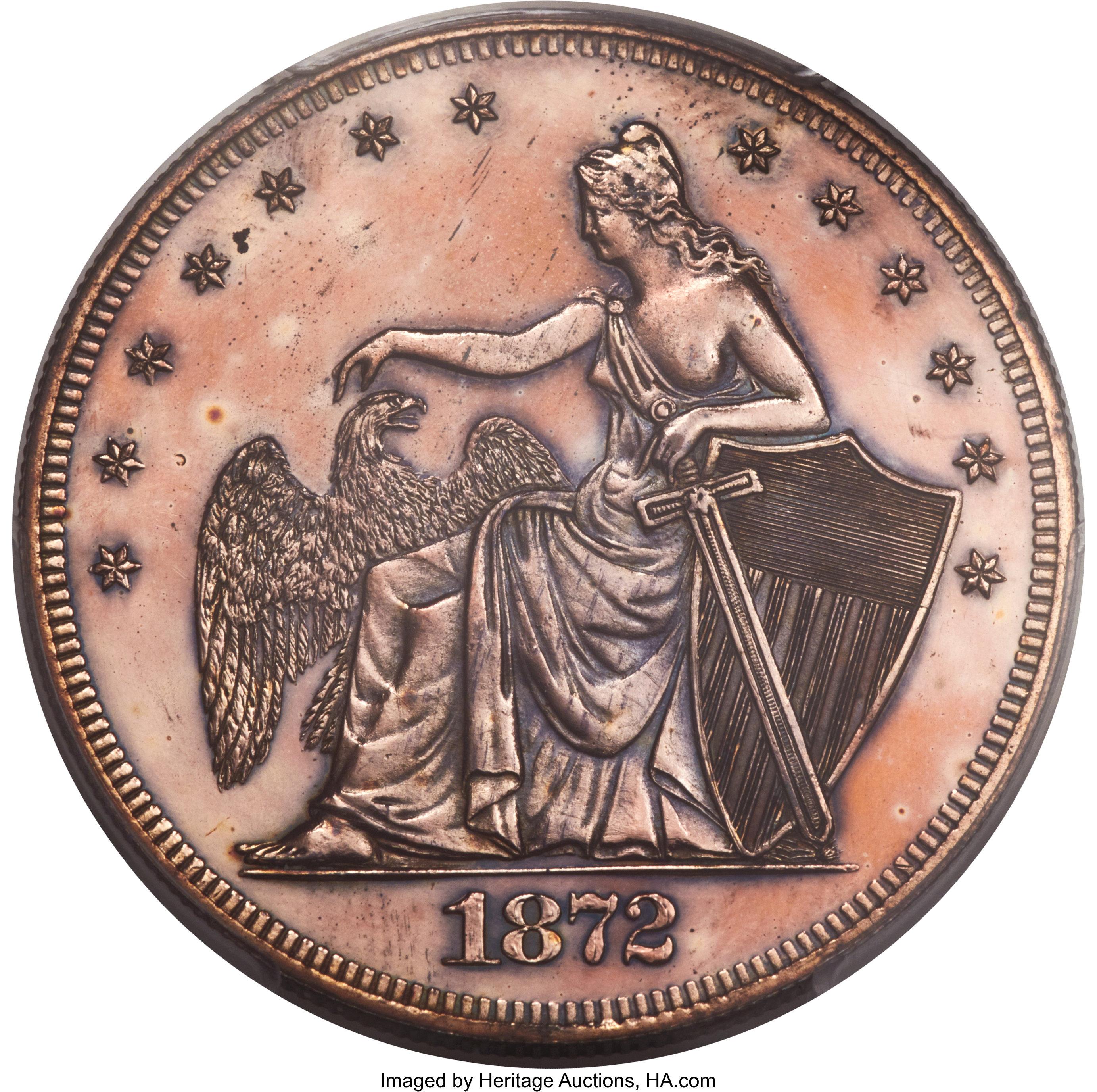 sample image for 1872 P$1 (J-1206) PR RB
