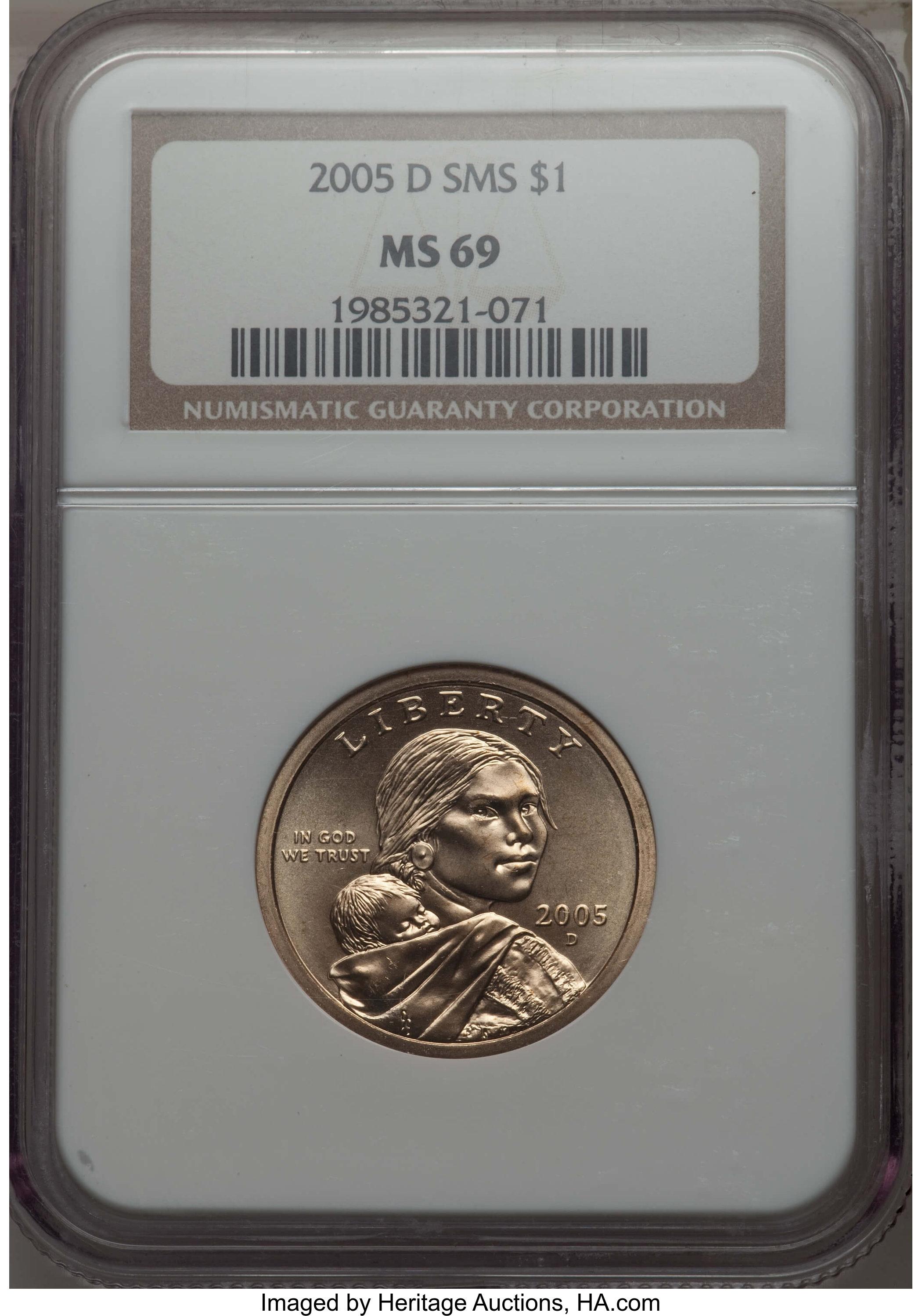 sample image for 2005-D $1  SP Satin Finish