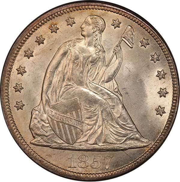 sample image for 1857 $1  MS