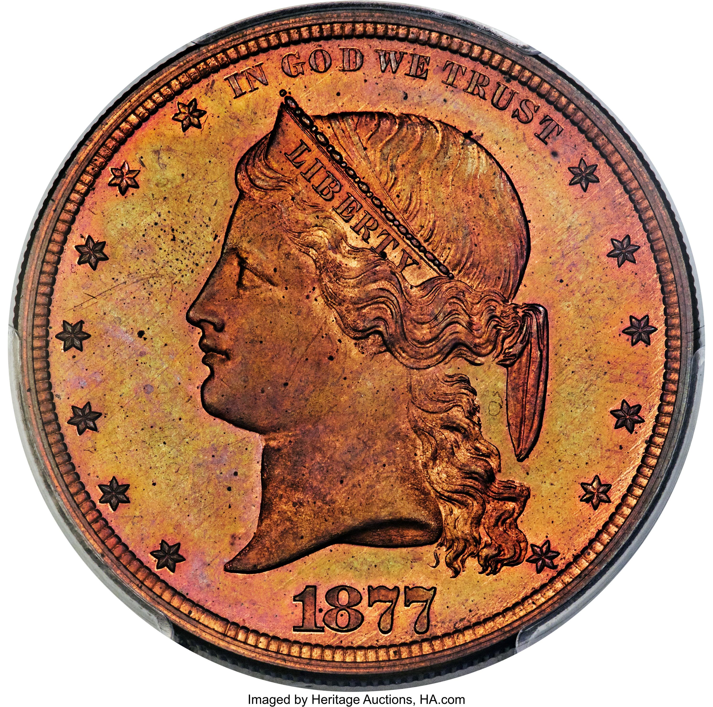 sample image for 1877 J-1543 P$1 PR RB