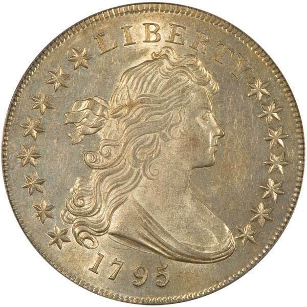sample image for 1795 Draped Bust $1  MS Centered