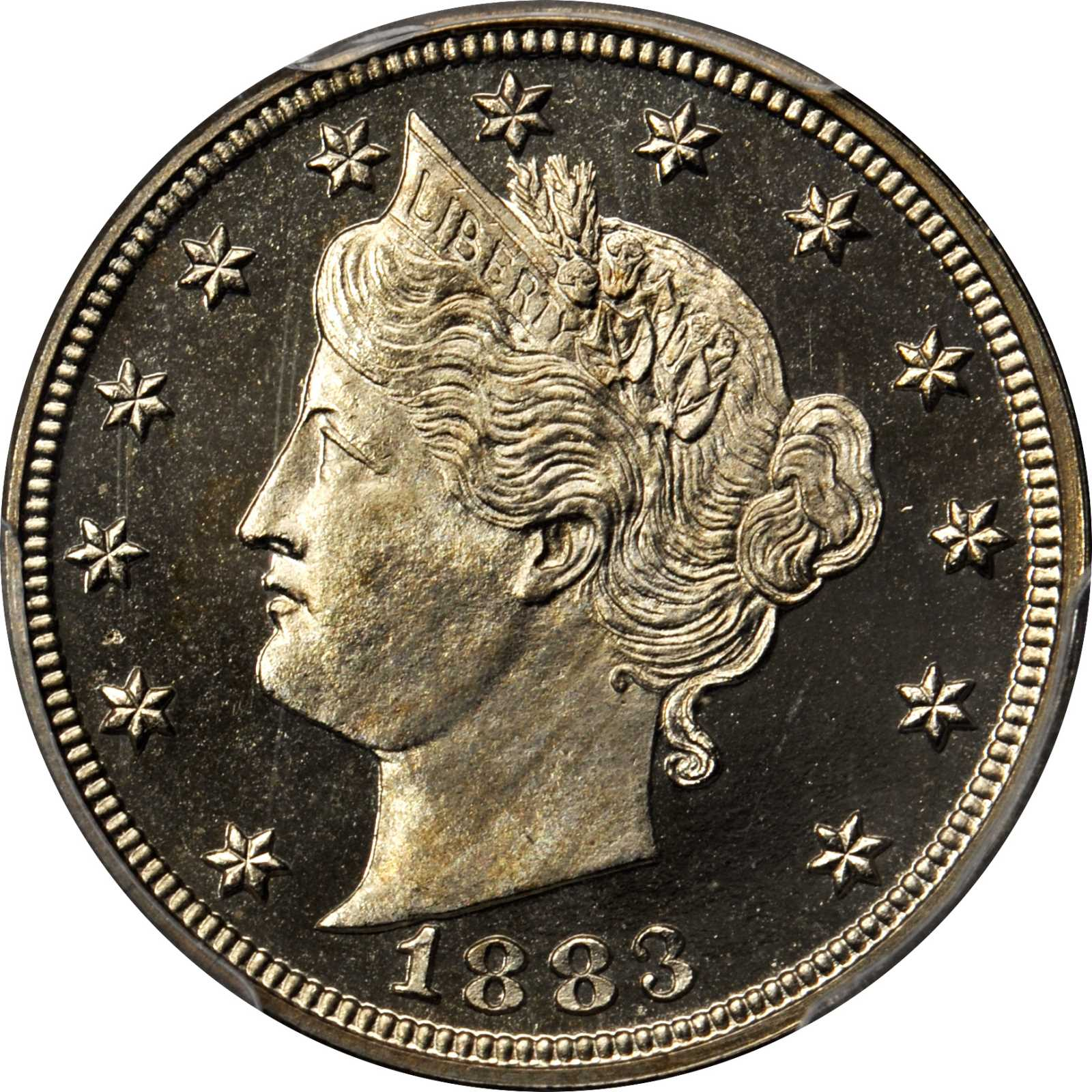sample image for 1883 5c PR DCAM With Cents
