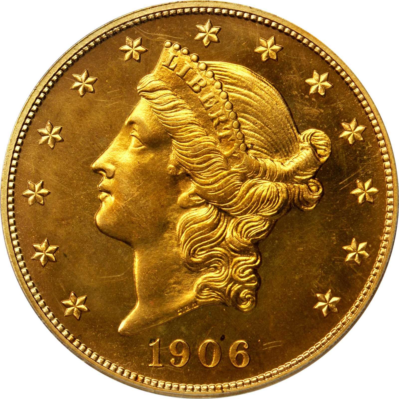 sample image for 1906 $20  PR