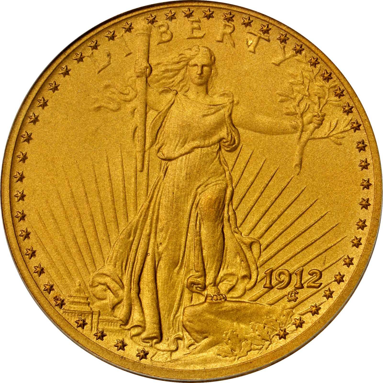 sample image for 1912 $20  PR