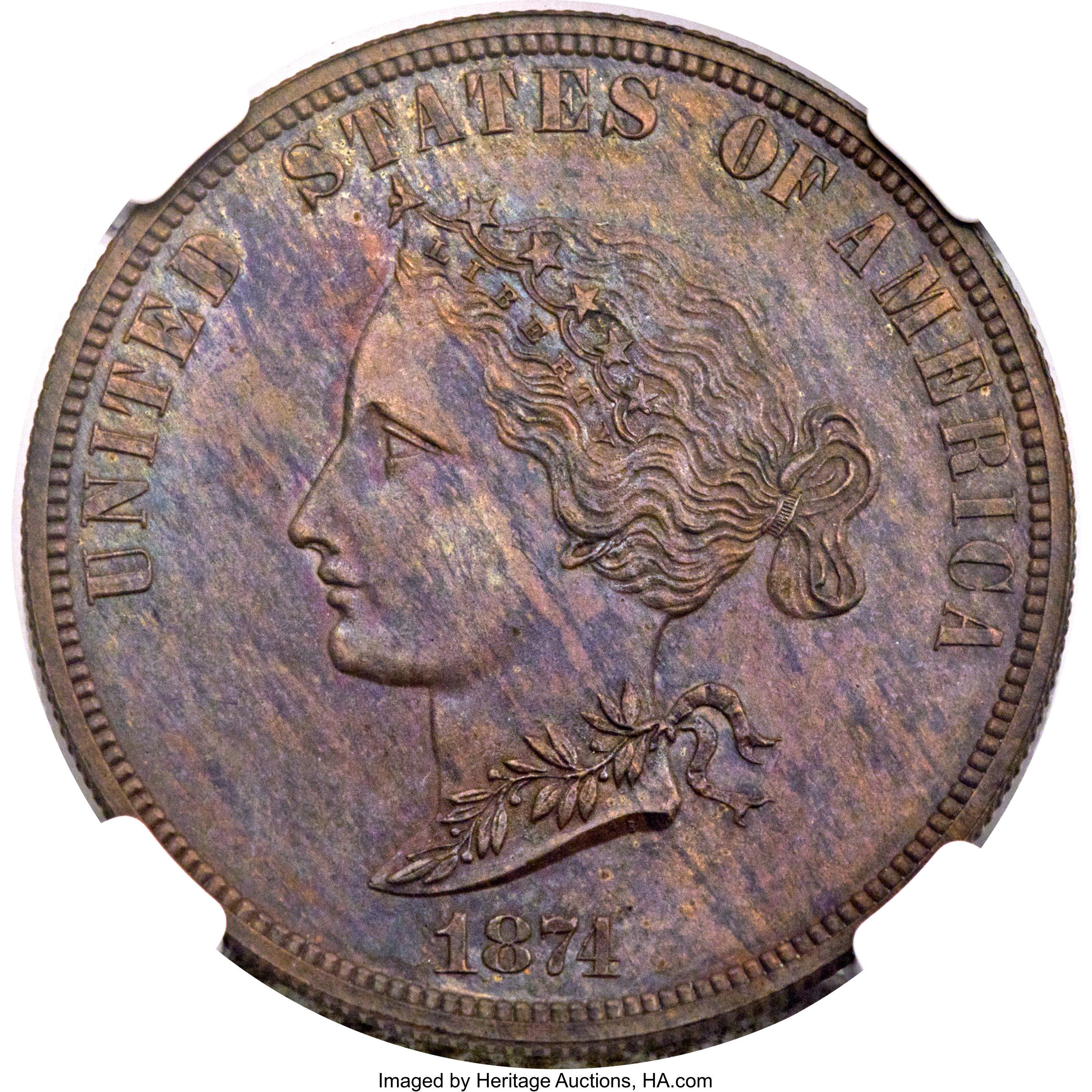 sample image for 1874 P$10 (J-1374) PR BN