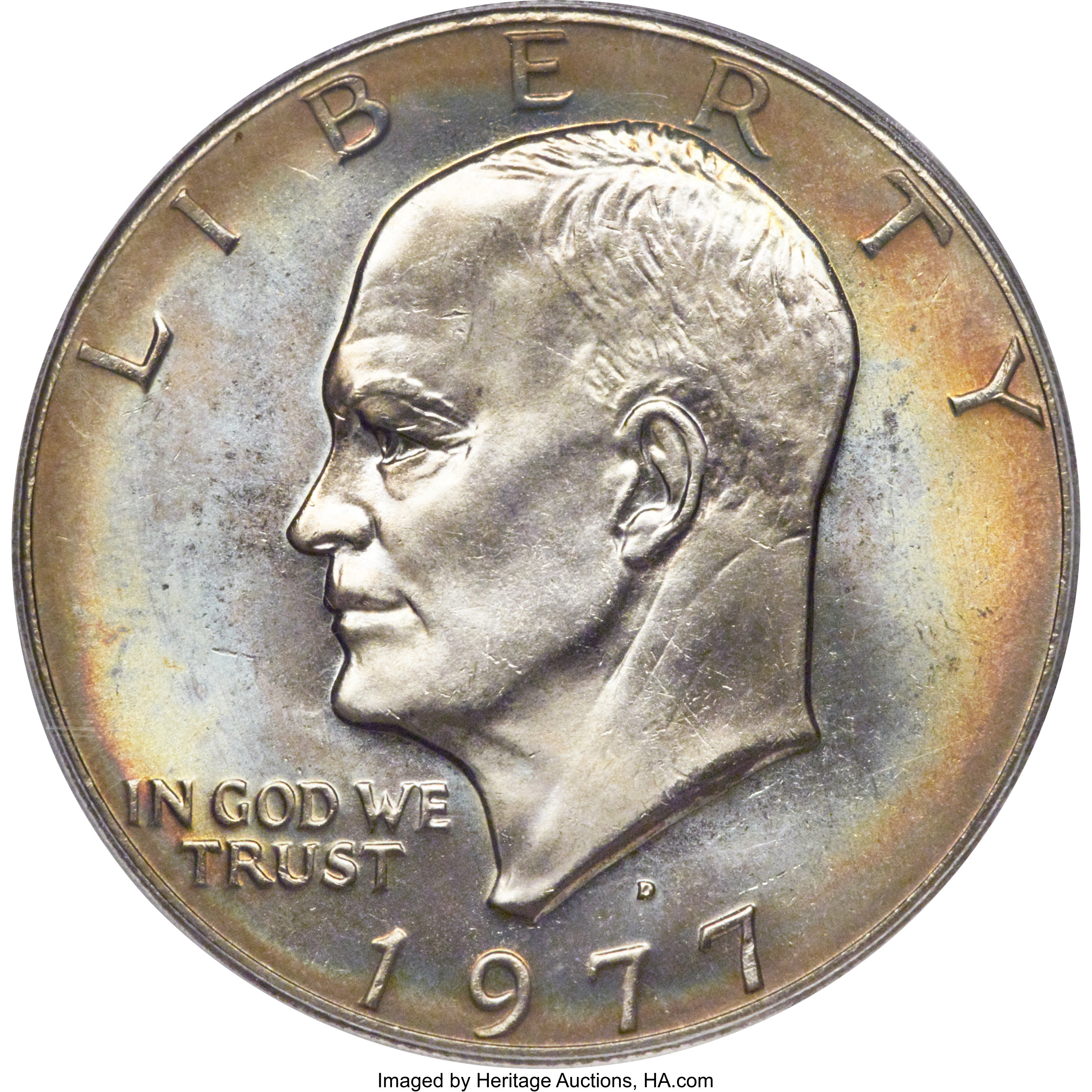 sample image for 1977-D $1  MS