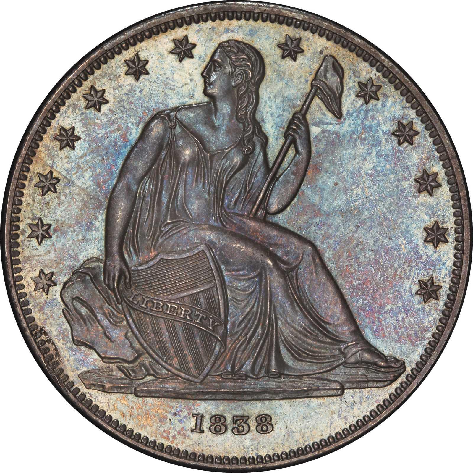 sample image for 1838 J-84, Original PS$1 PR