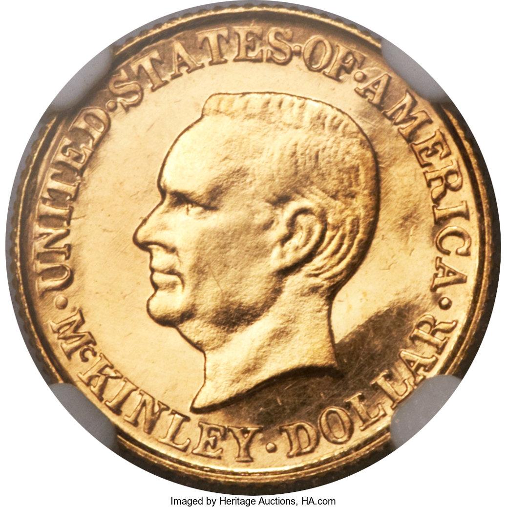 sample image for 1916 McKinley G$1 PR