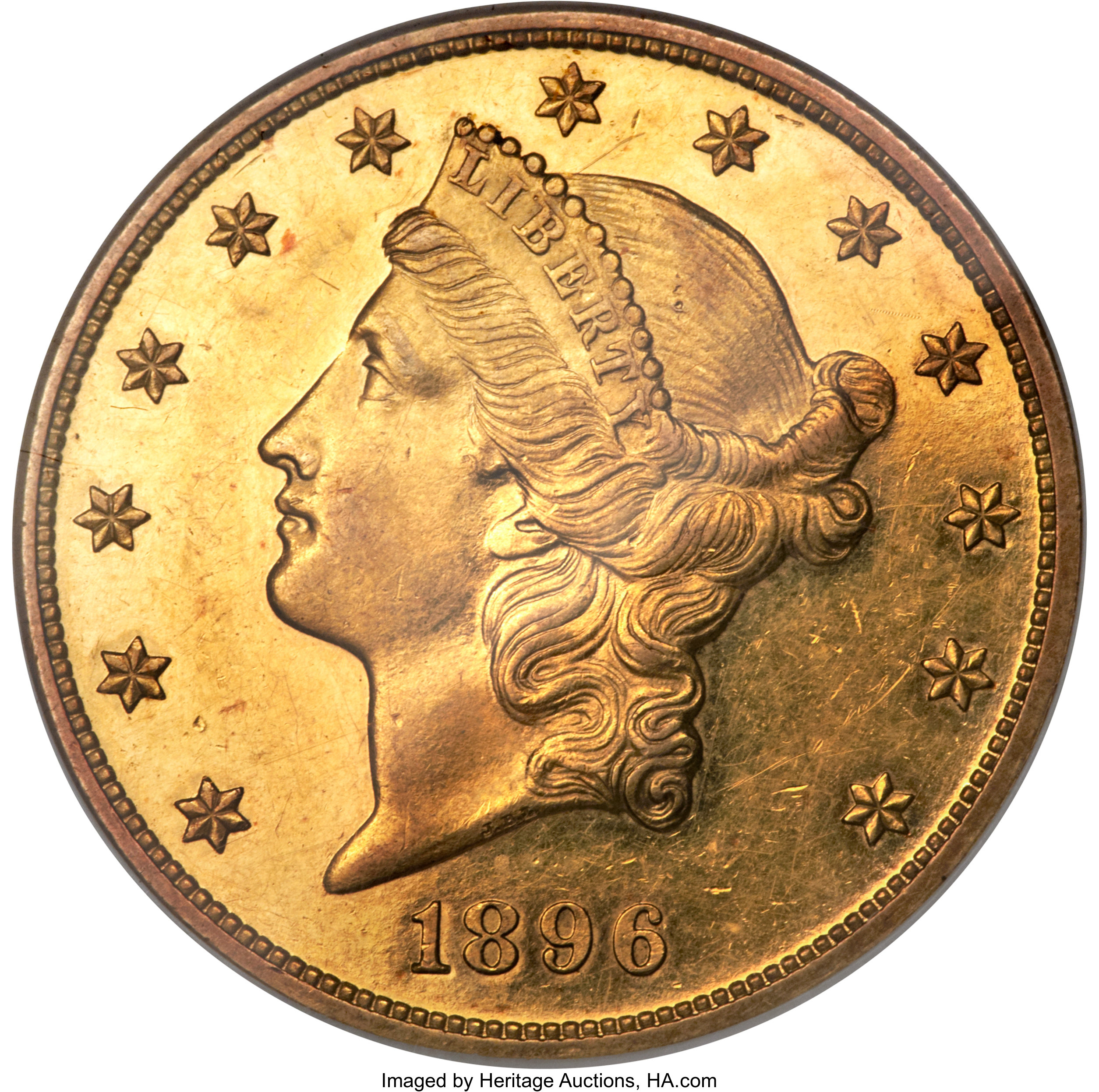 sample image for 1896 $20  PR